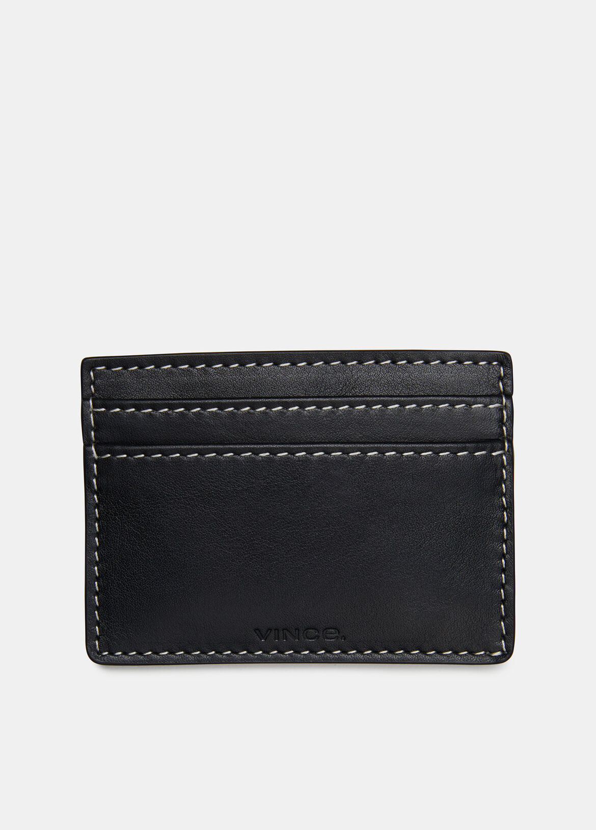빈스 Vince Exclusive / Card Holder,BLACK