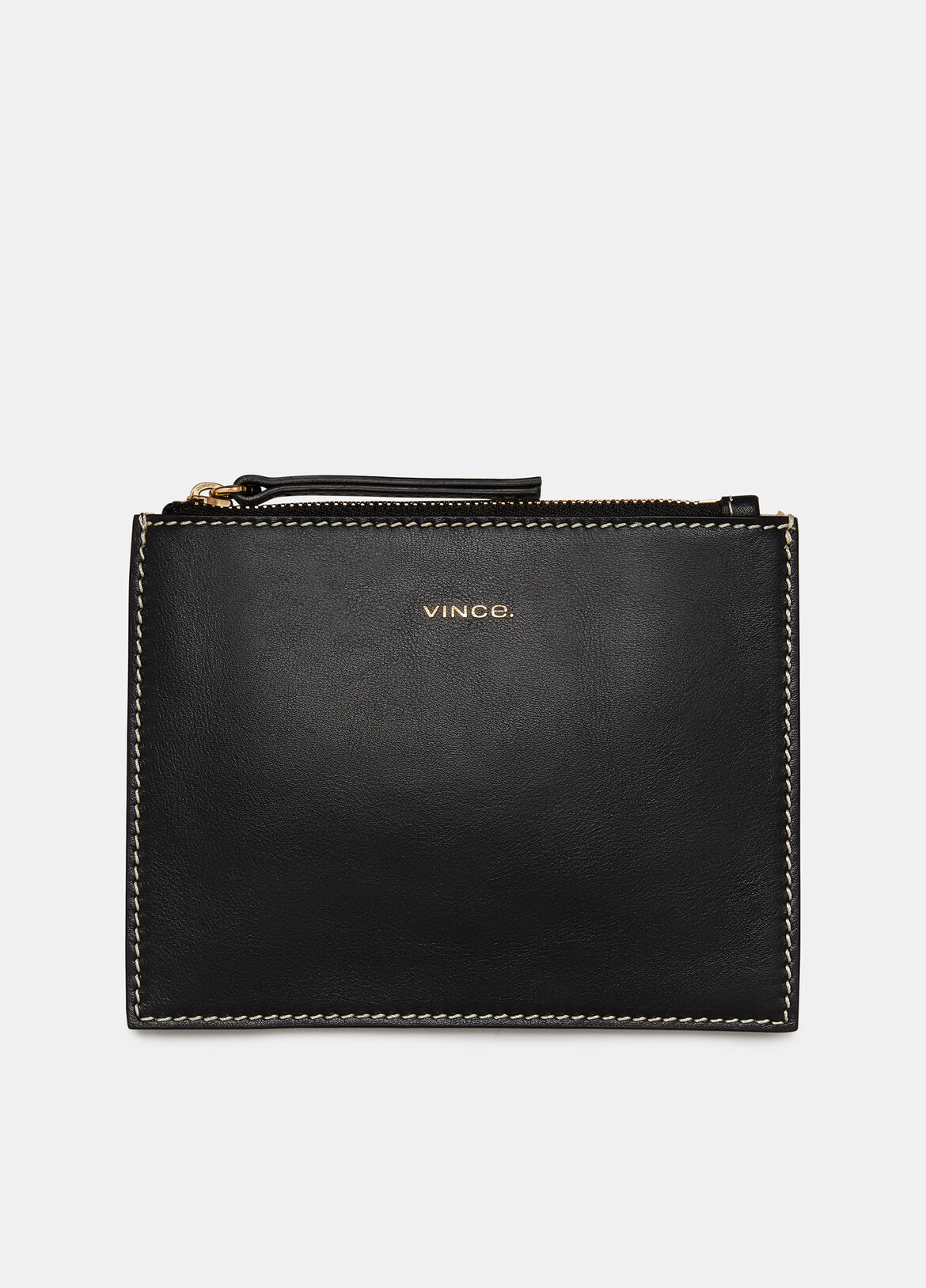 빈스 Vince Exclusive / Palm Mini Pouch,BLACK/GREEN