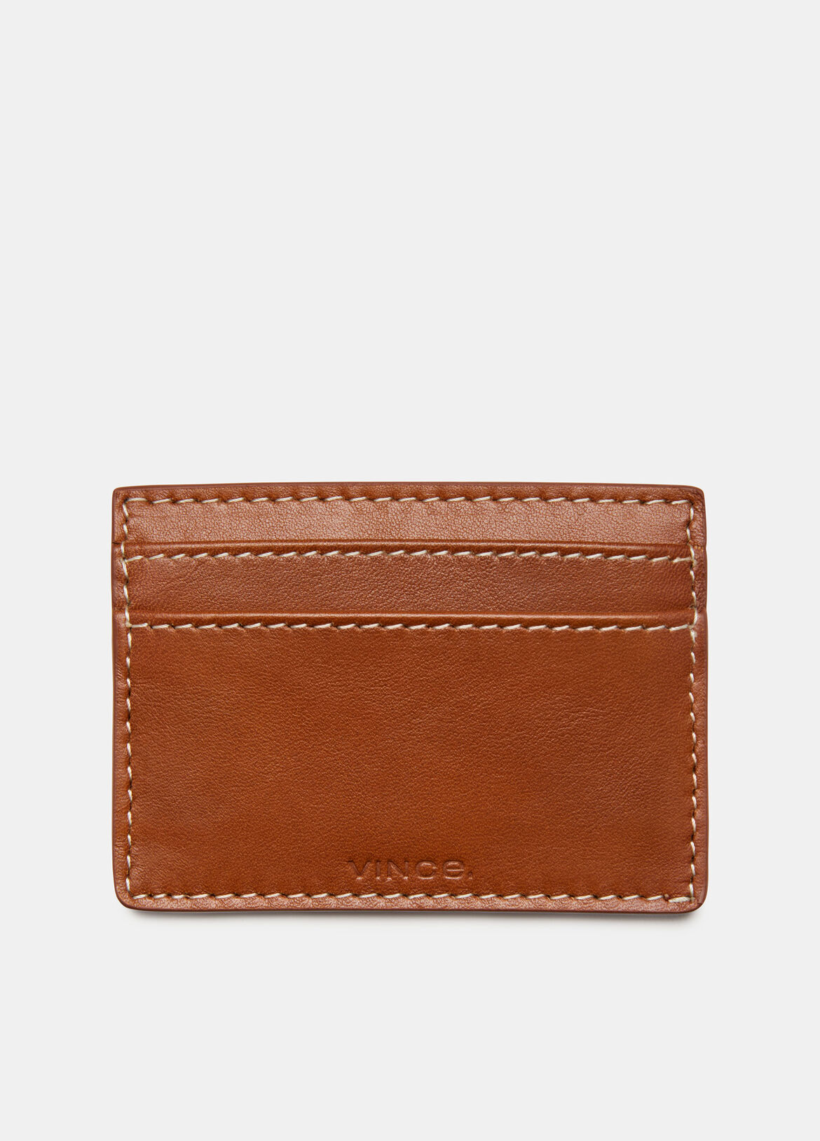 빈스 Vince Exclusive / Card Holder,SADDLE