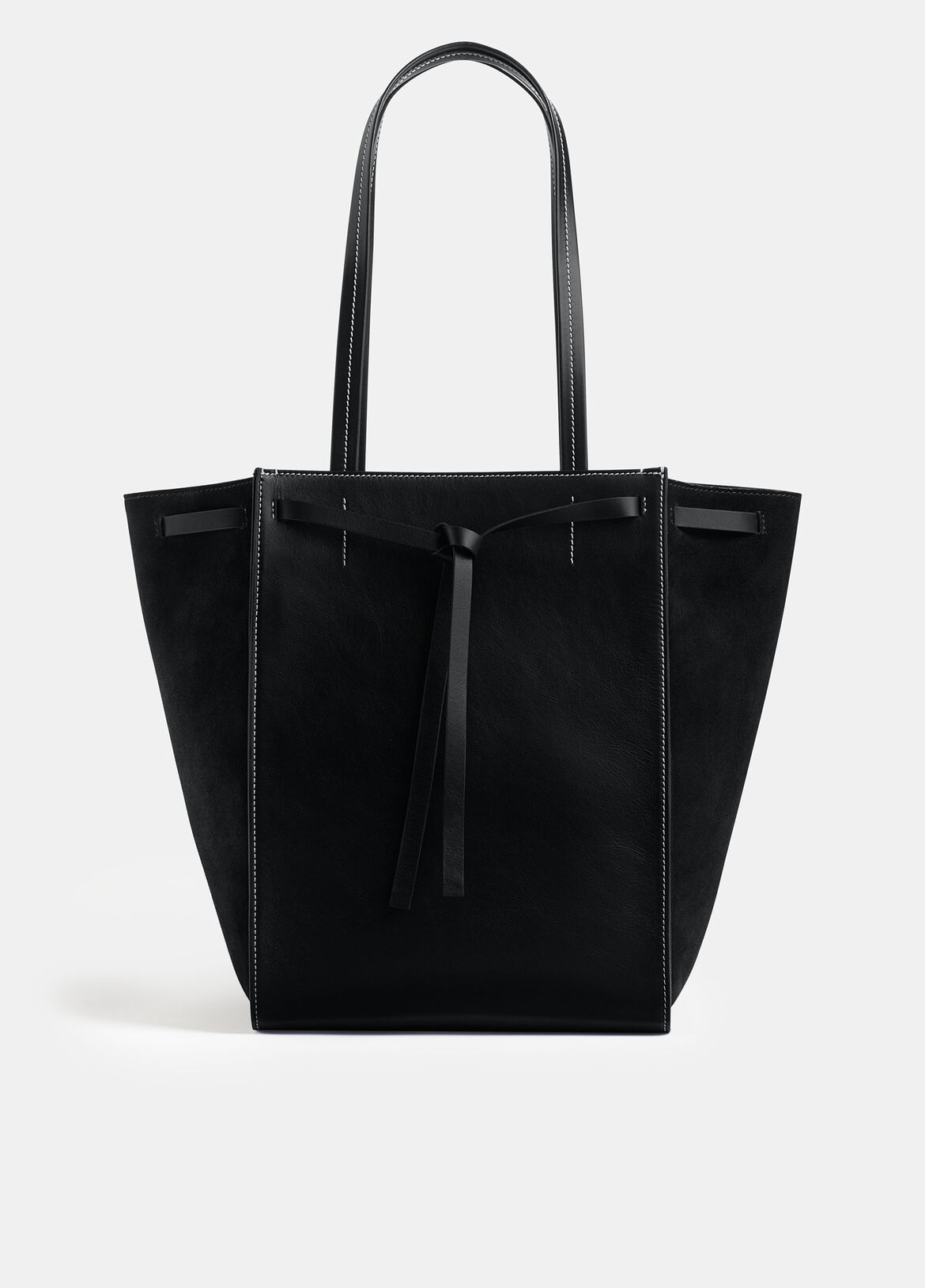 빈스 Vince Exclusive / Topanga Tote,BLACK