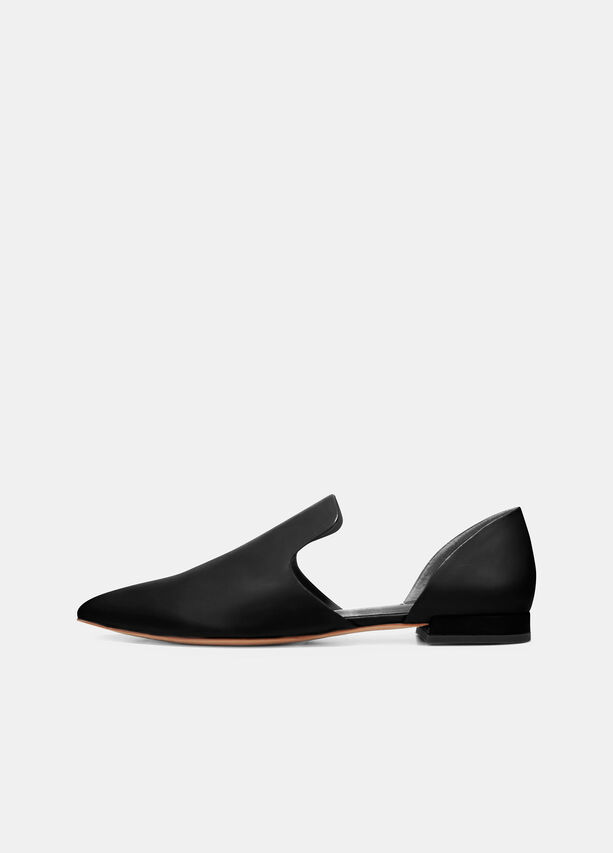 Damris Leather Flats by Vince
