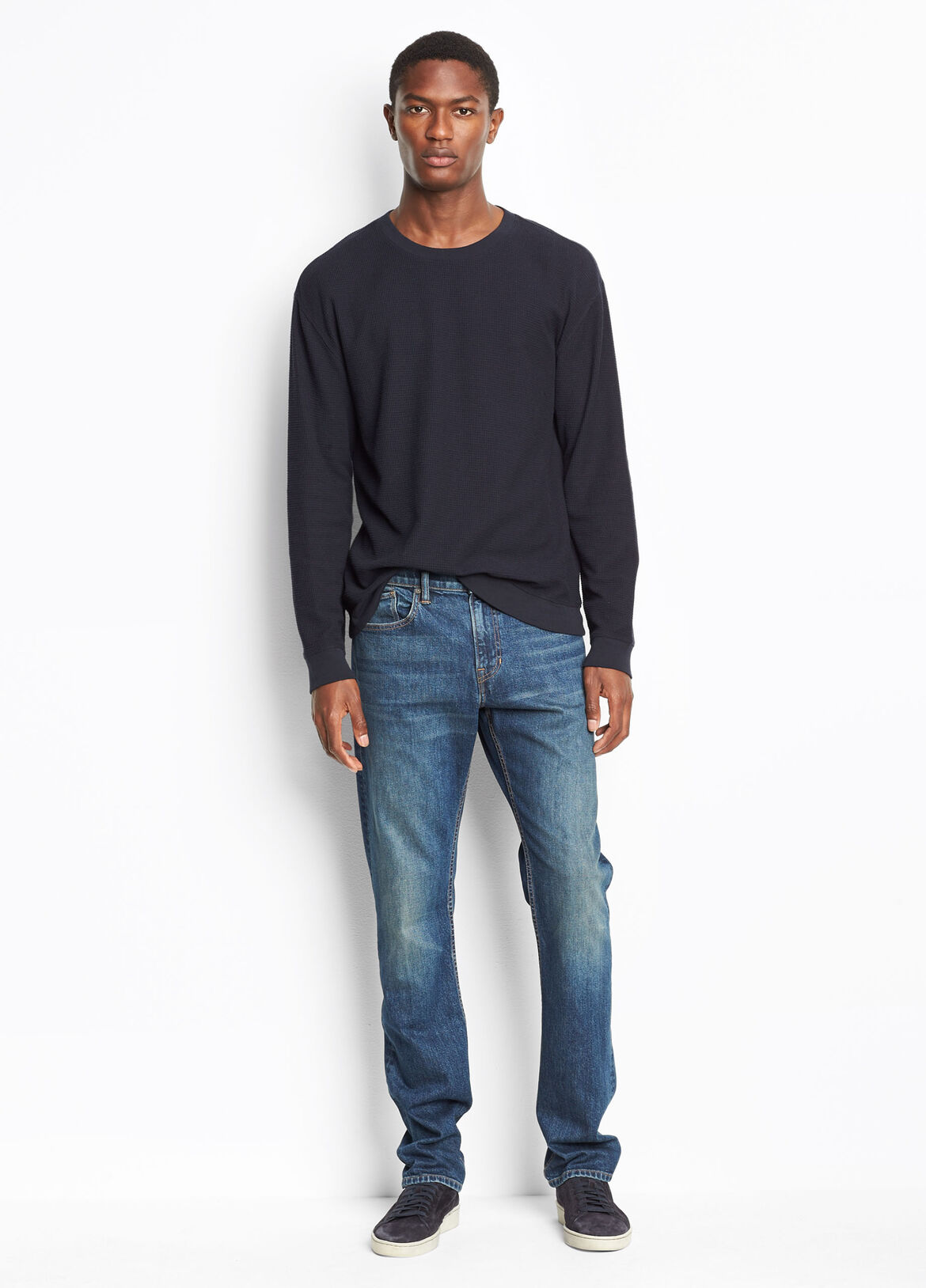 빈스 Vince Exclusive / DM 01 The Straight Stretch,medium vintage wash