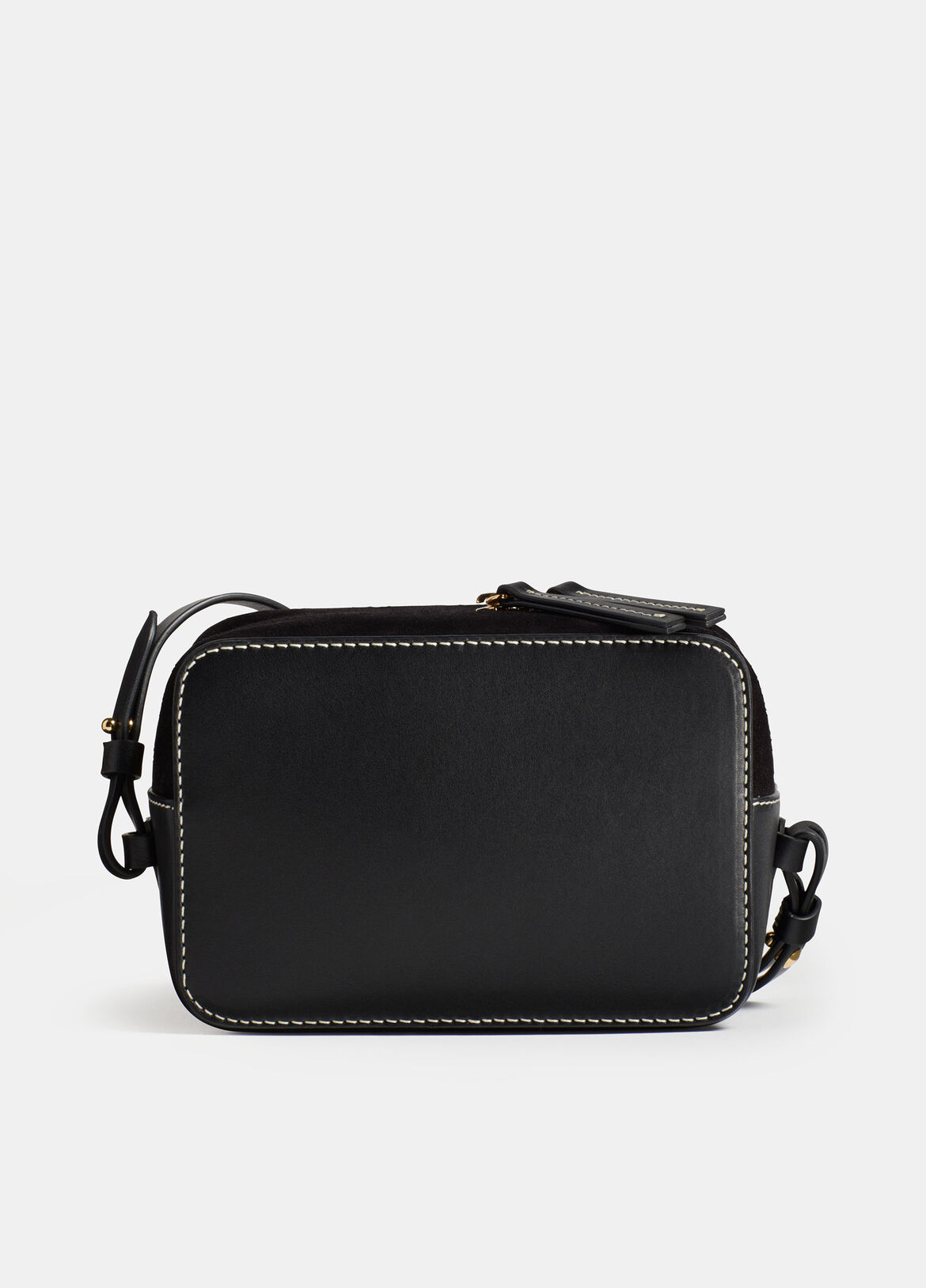 빈스 Vince Exclusive / Catalina Camera Bag,BLACK