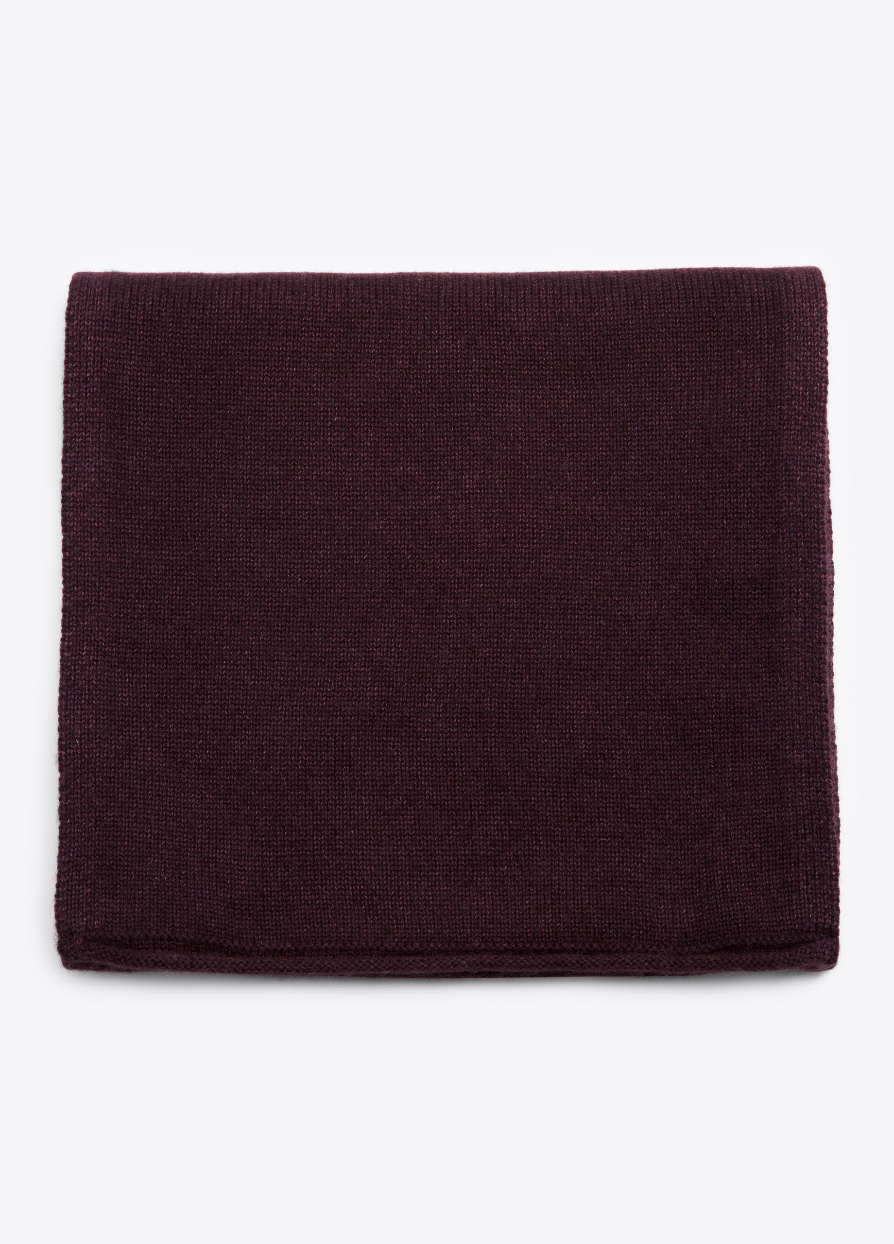 Garment-Dyed Wool and Cashmere Beanie