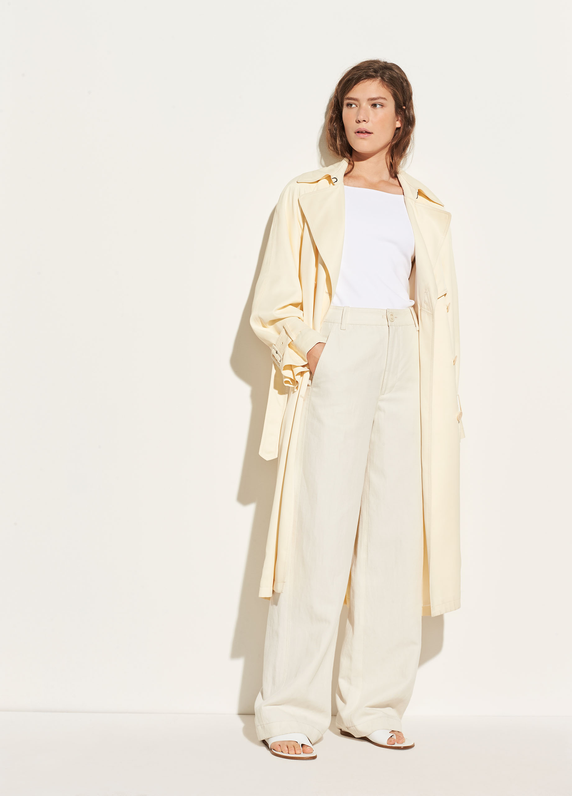 Belted Cross-Over Culotte