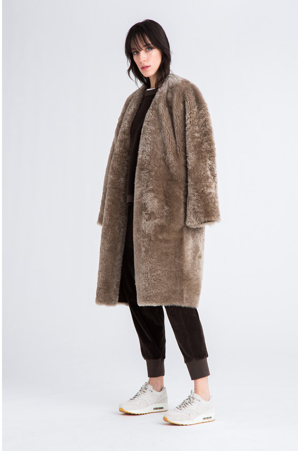 Reversible Shearling Coat Vince Pre-Order for Women