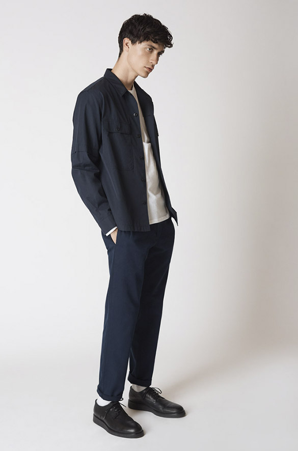 Cotton Shirt Jacket Prefall 2018 Collection for Men