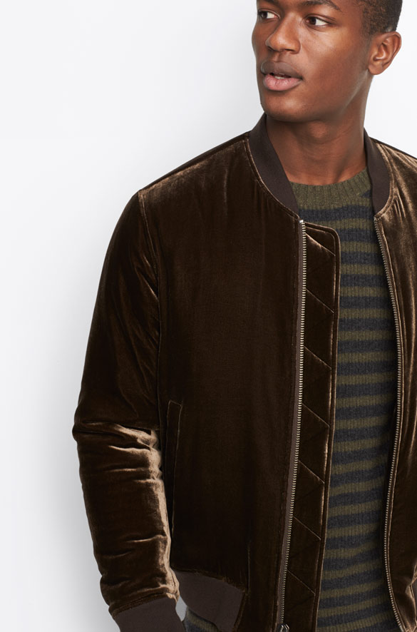 Velvet Bomber Vince Pre-Order for Men