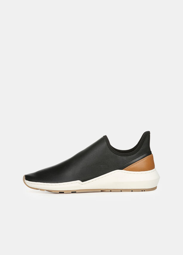 Leather Marlon Sneaker by Vince