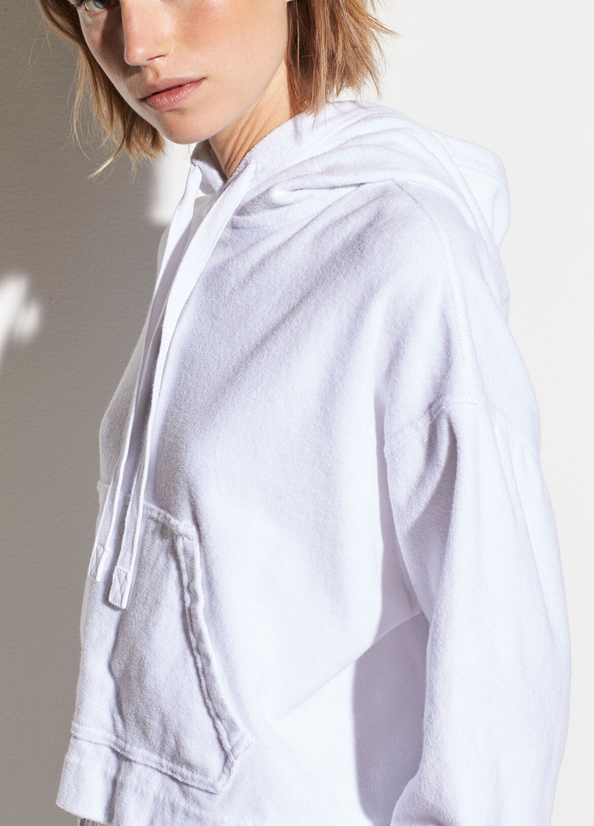 8161781b890c Wide Sleeve French Terry Hoodie