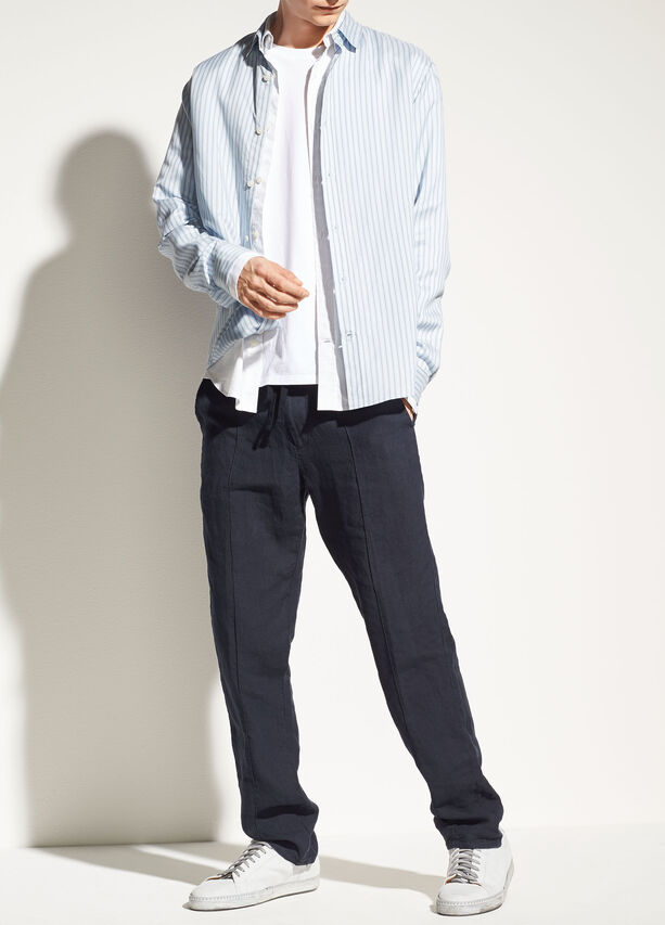 Pintuck Track Trouser by Vince