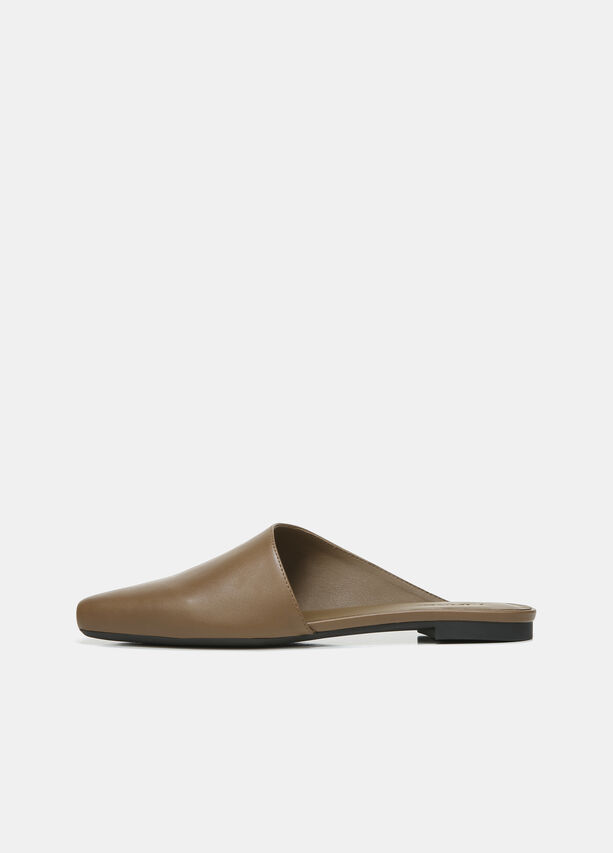 Vince Leather Gena Assymetrical Mule