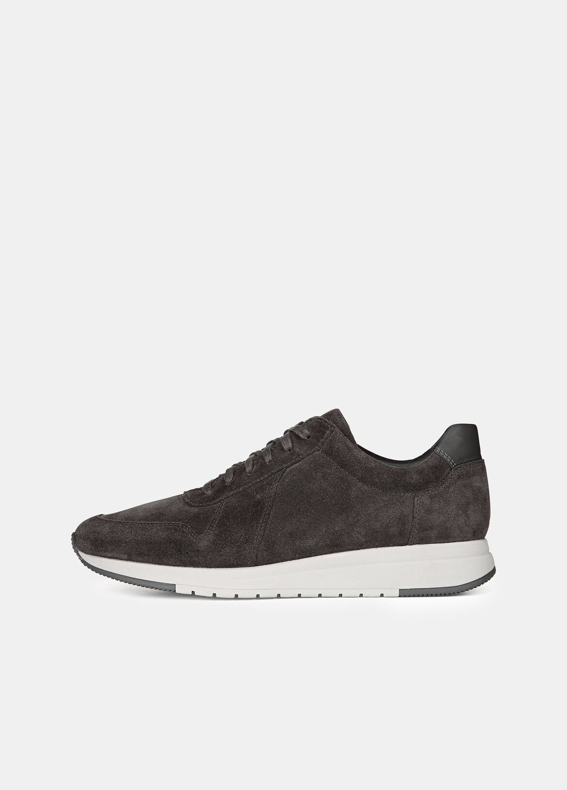 These Pryor sneakers are made from butter-soft suede, set on durable rubber soles. Key details include paneling and a smooth leather heel tab.