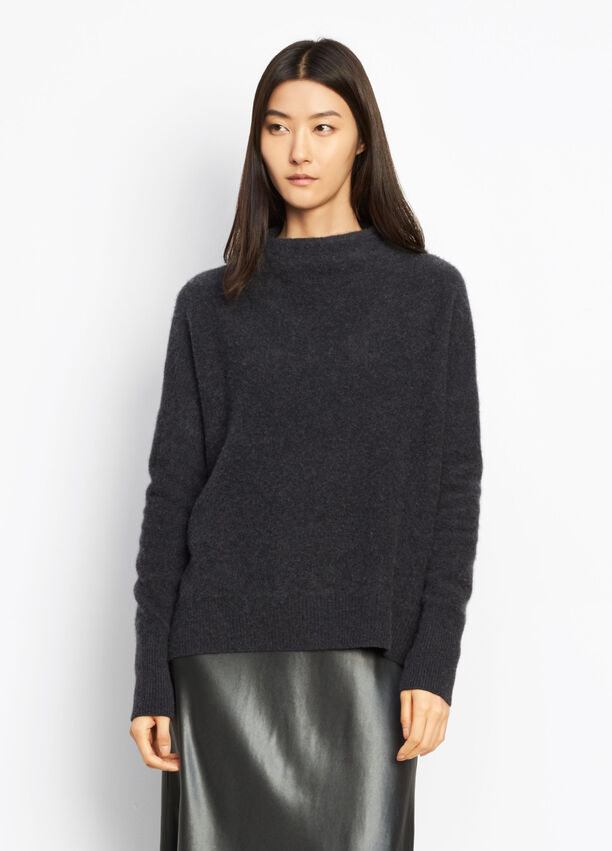 1c2824389fc0f5 Cashmere Funnel Neck Pullover for Women | Vince