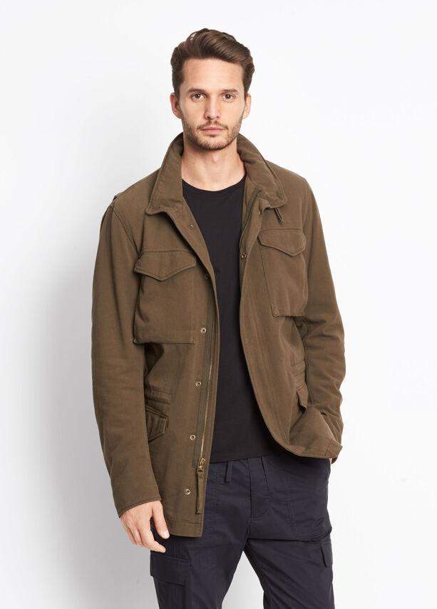 Shearling Lined Army Coat for Men | Vince
