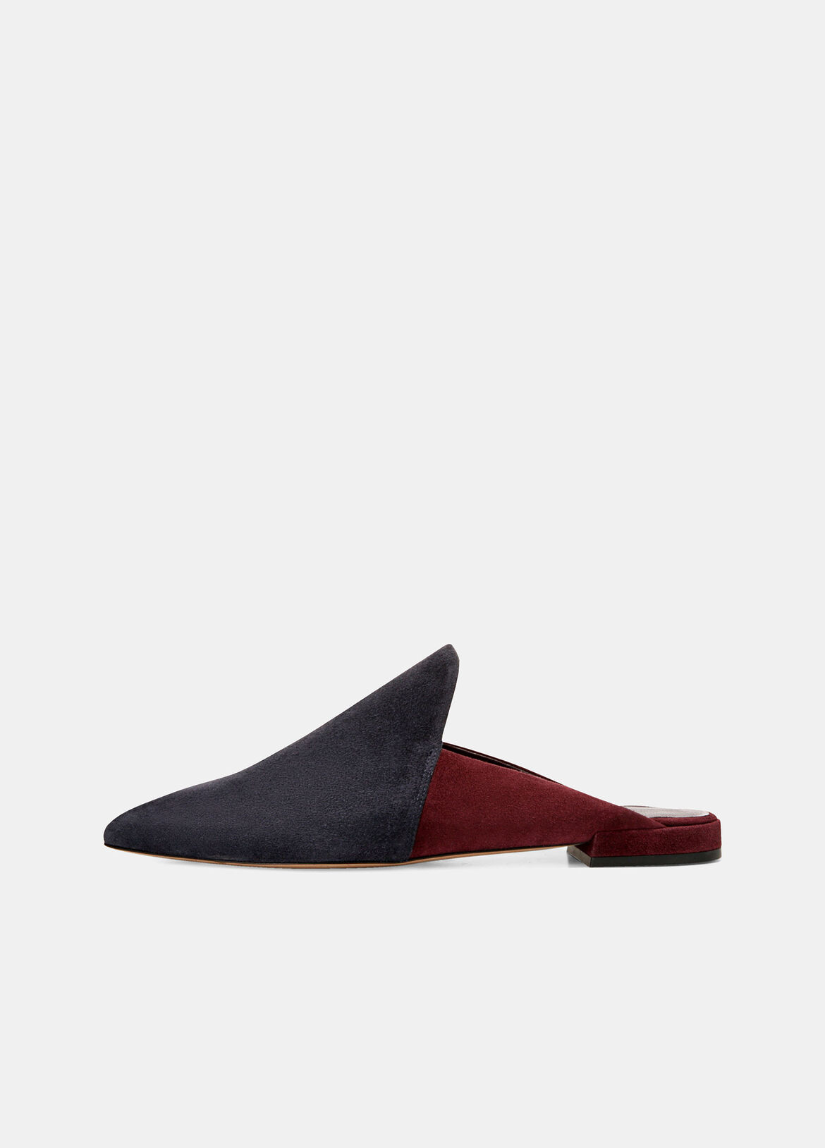 A nod to the season's jewel-tone colors, the Darby is crafted in Italy from supple suede. It has smooth leather linings and a refined, pointed toe.