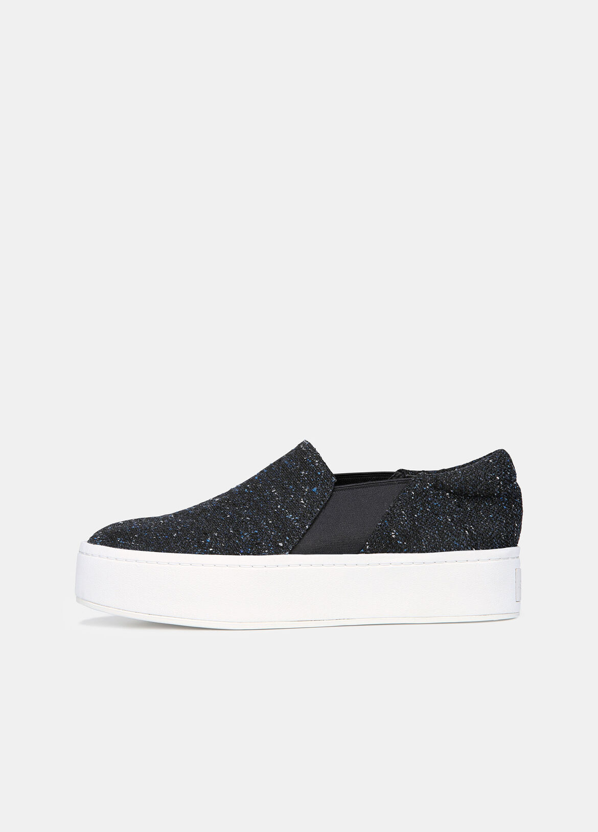 The effortless slip-on, updated in tactile tweed set on a raised rubber sole.