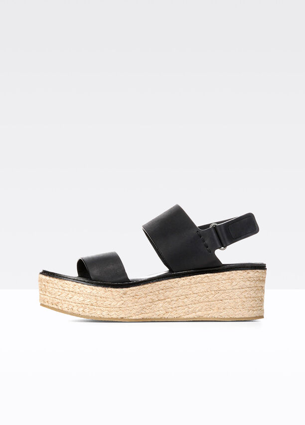b74894e7d2 Janet Leather Sandals for Women | Vince