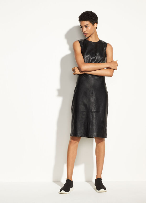 Leather Dress For Women Vince