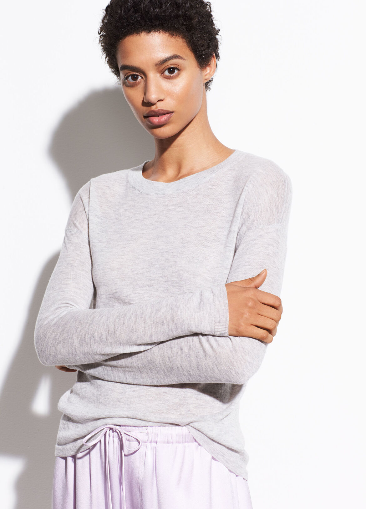 d22715e9 Wool Long Sleeve Sweater Tee. $225.00. More Colors