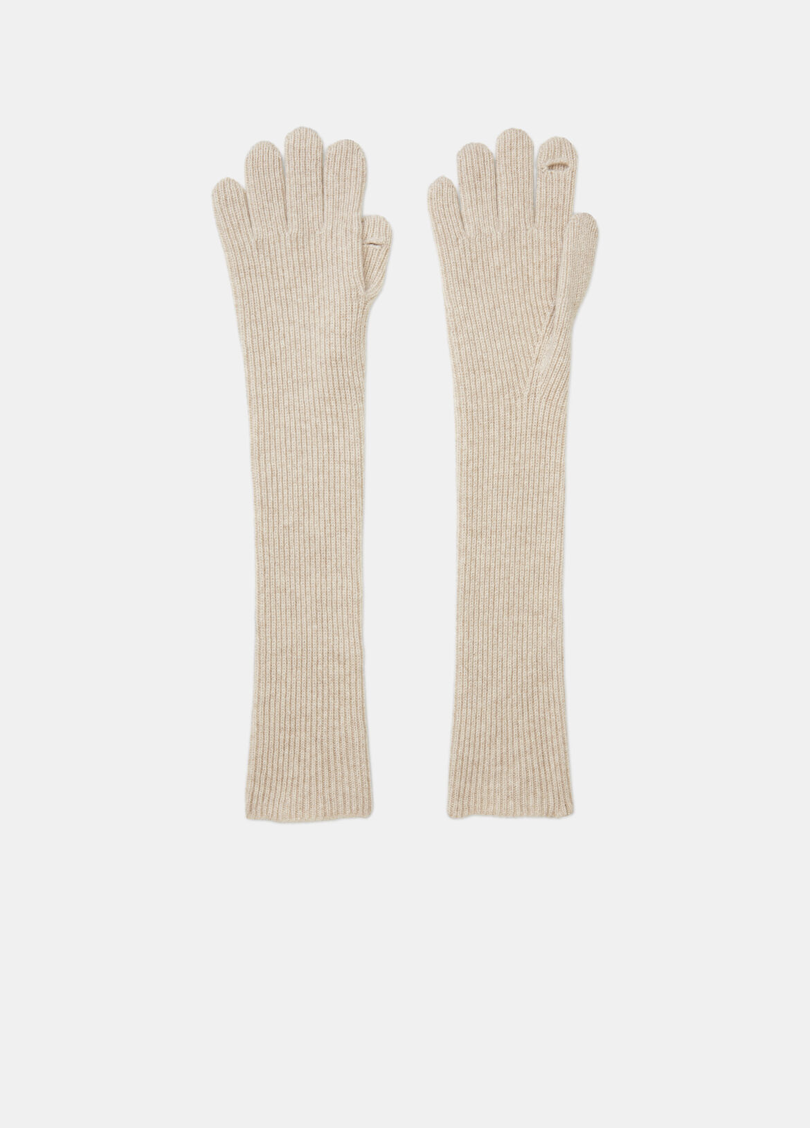 빈스 장갑 Vince Ribbed Cashmere Gloves