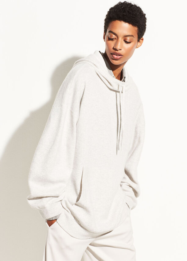 f700328528df Double Layer Cashmere Hoodie for Women