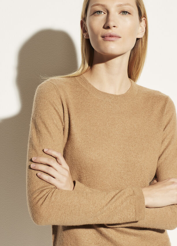 Vince Fitted Cashmere Crew