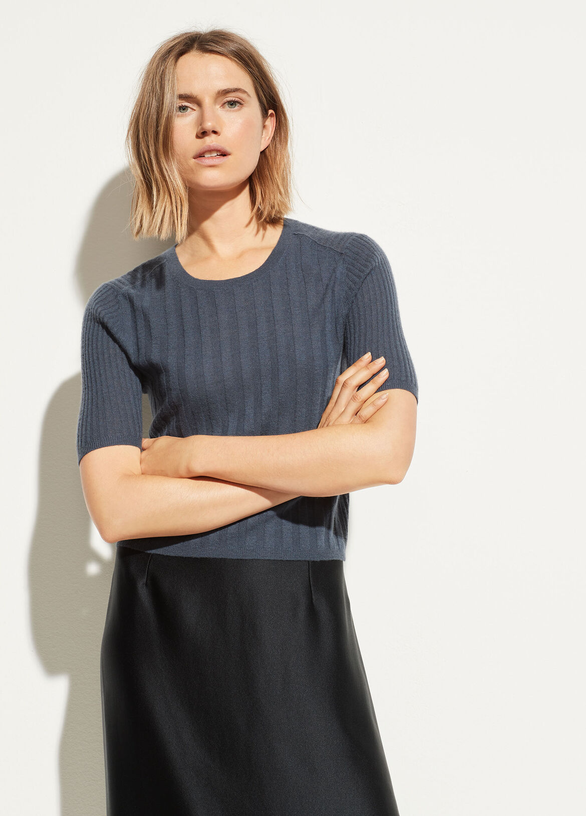 02923def615a Cashmere Elbow Sleeve Pullover