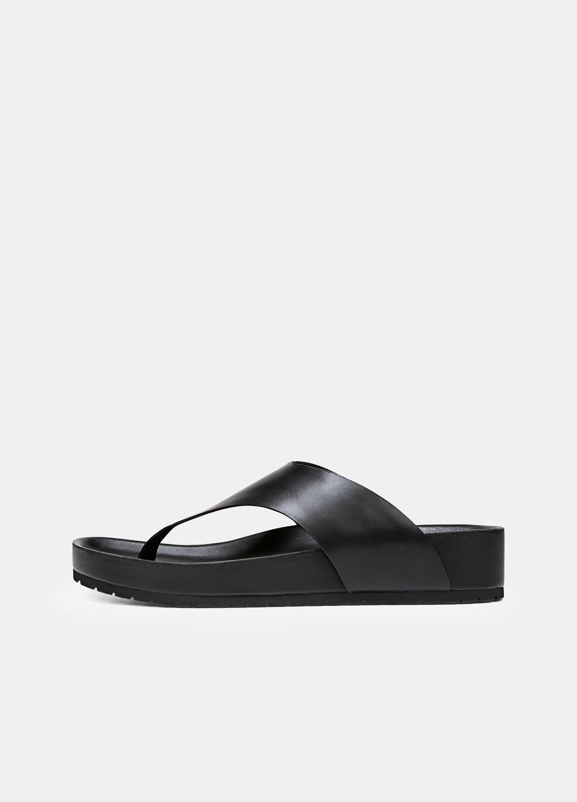 The Padma are elevated sandals done in smooth leather. They're finished with comfortable molded footbeds.