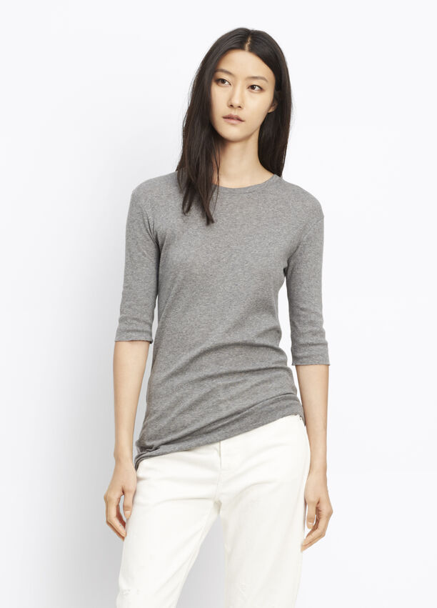 12f27c55 Elbow Sleeve Tee for Women | Vince