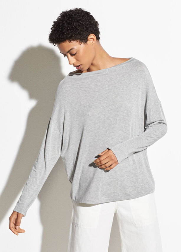 Long Sleeve Mock Neck by Vince