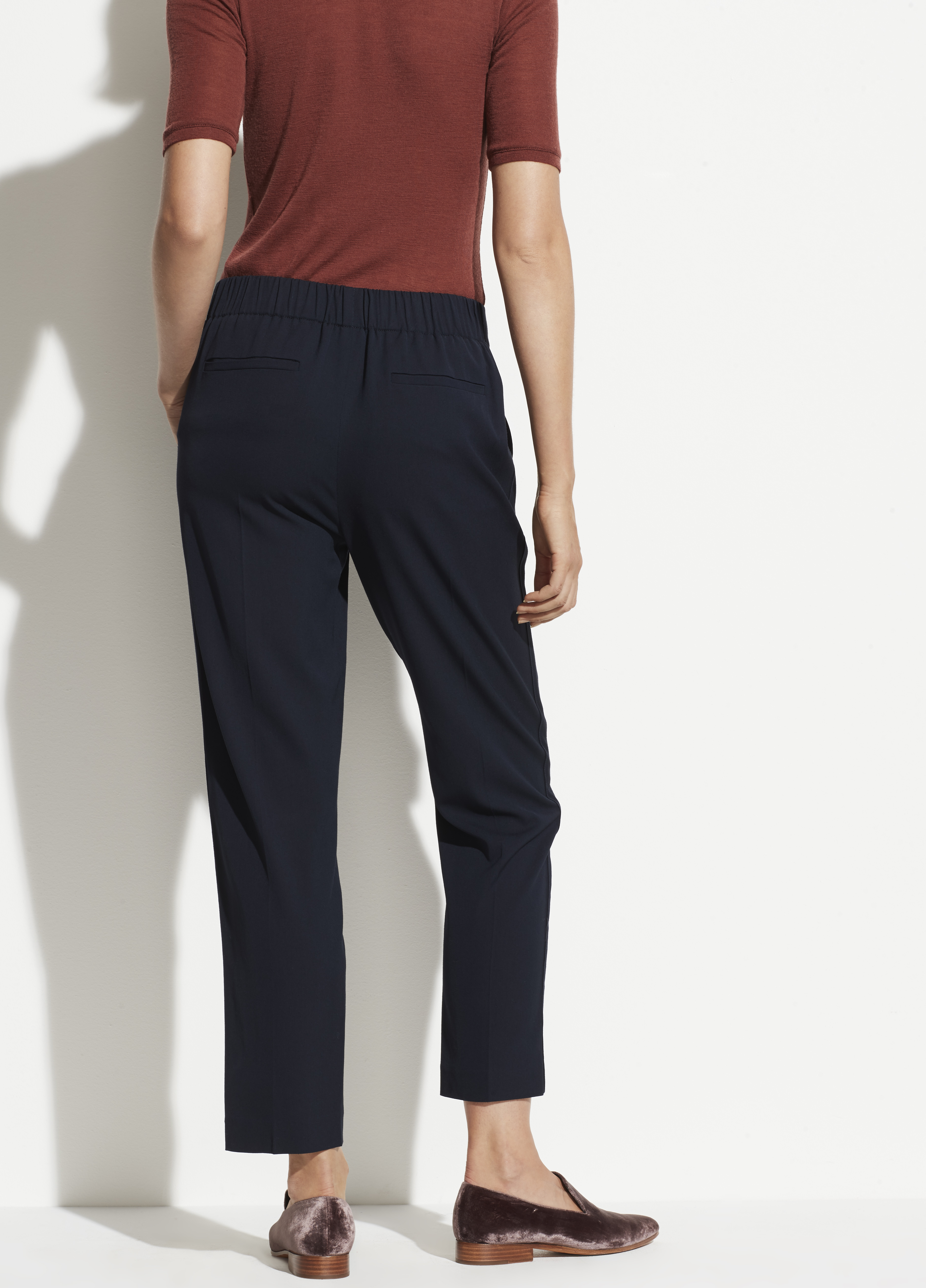 Side Strap Pull On Pant For Women Vince