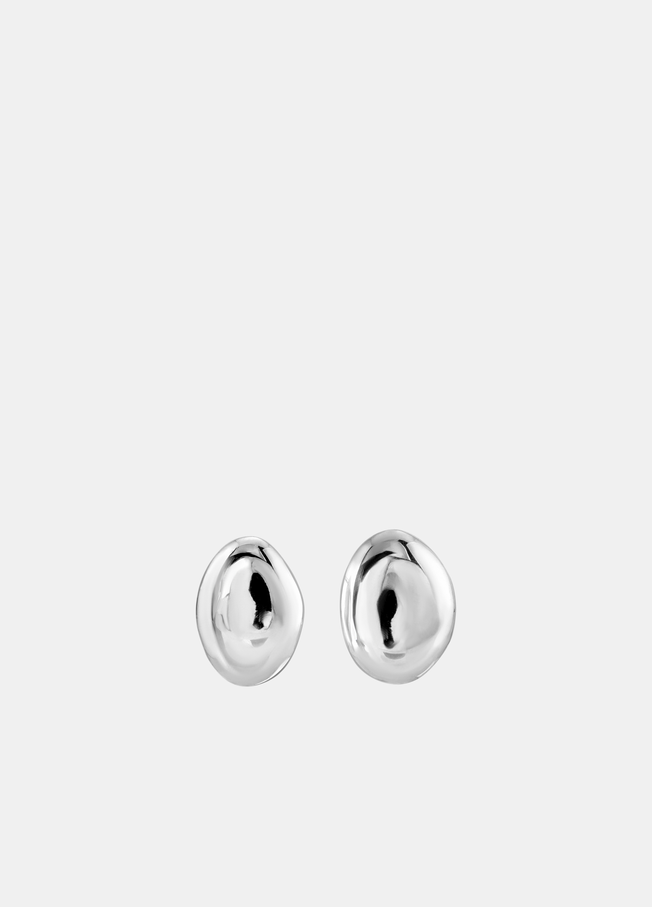 Modern Weaving / Hand Formed Oval Dome Studs