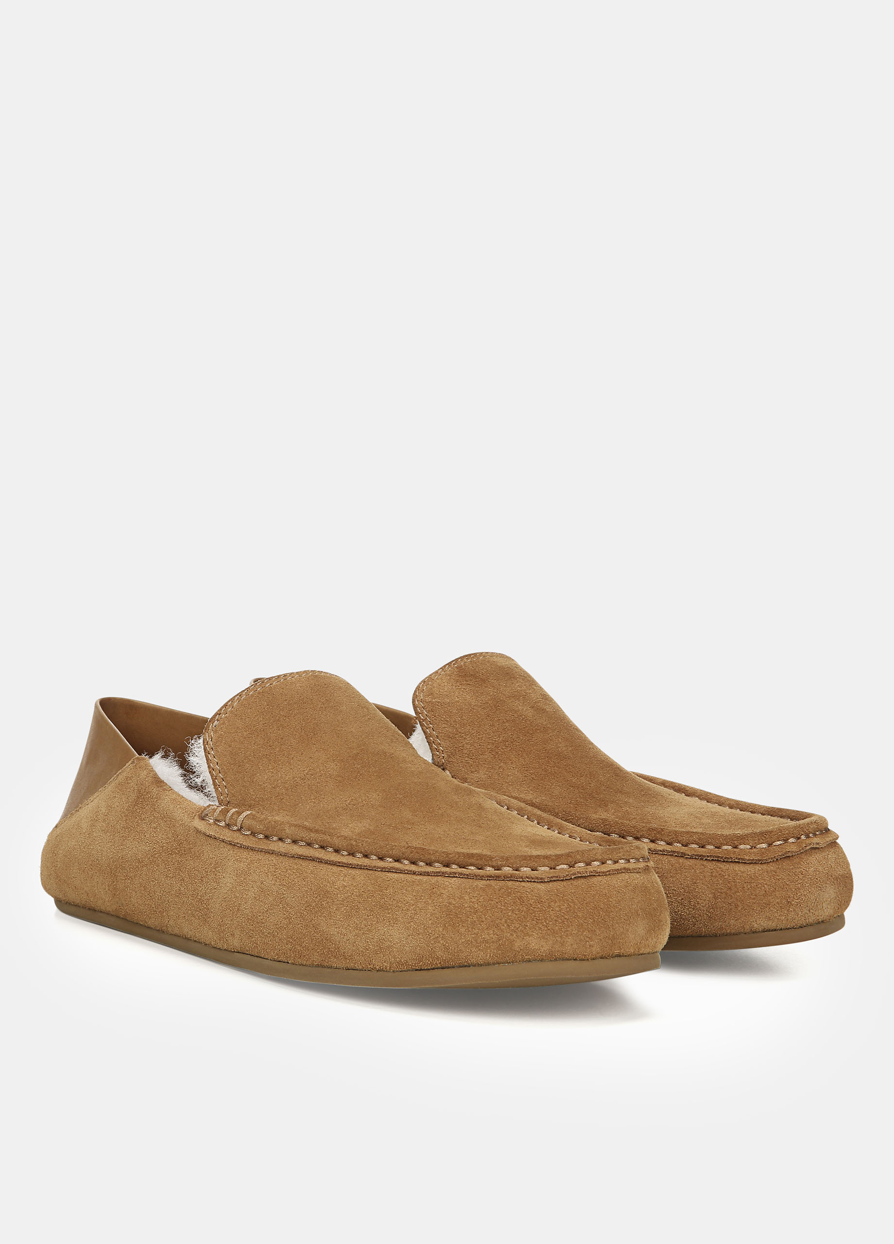 Shearling-Lined Gino Slipper