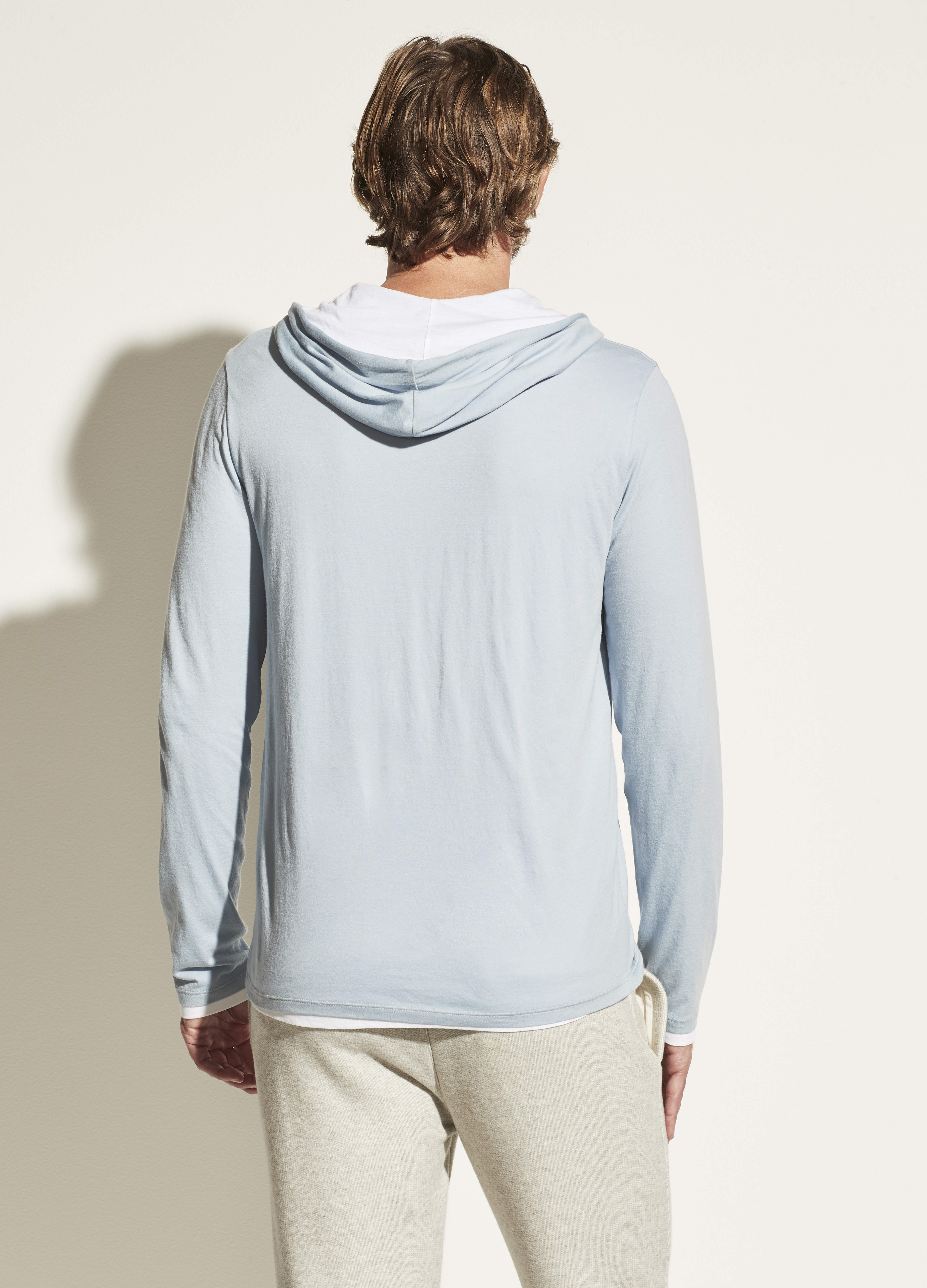 Double Layer Pima Cotton Hoodie
