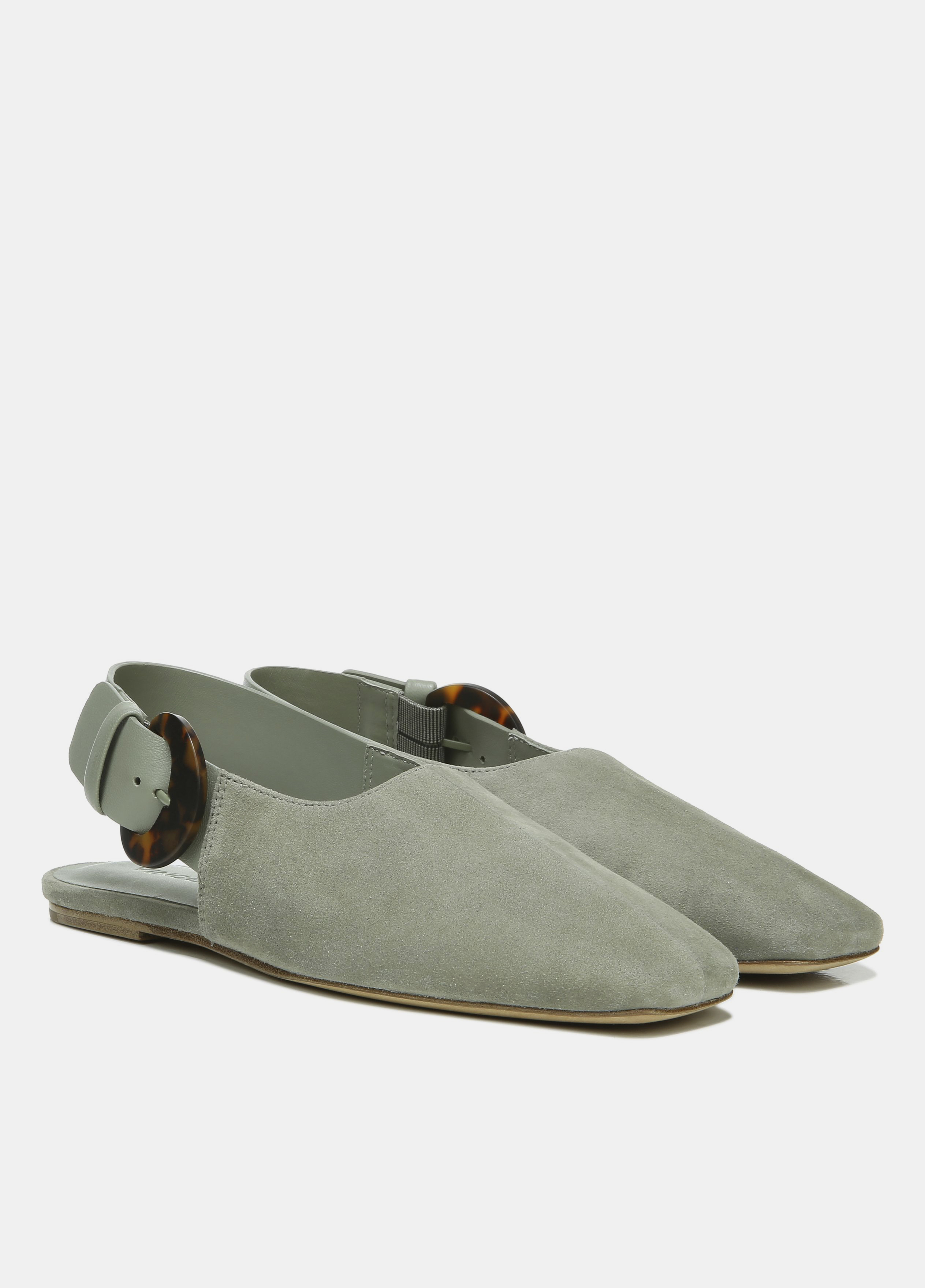 Cadot Suede Buckle Shoe