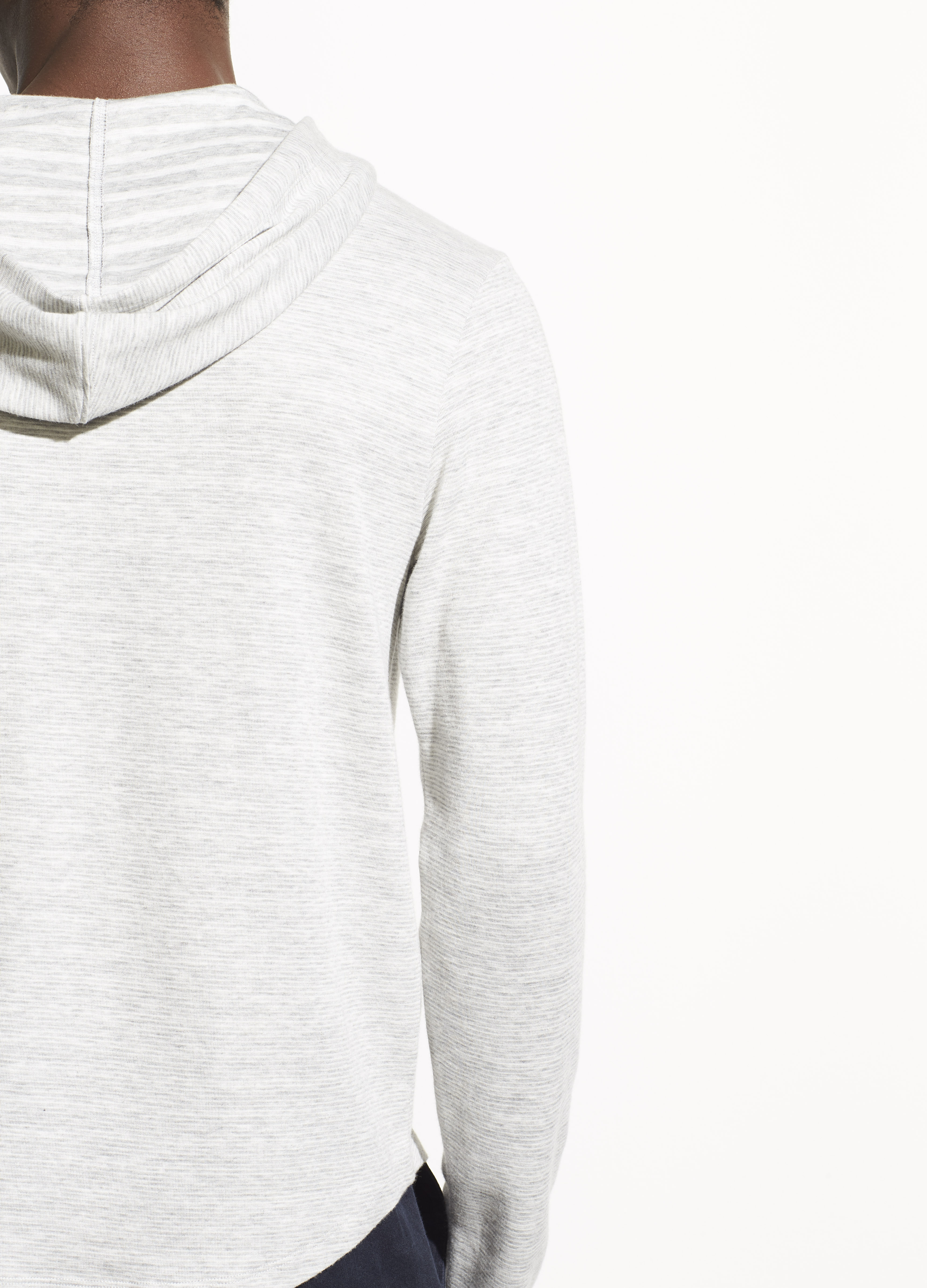 Double Knit Popover Hoodie