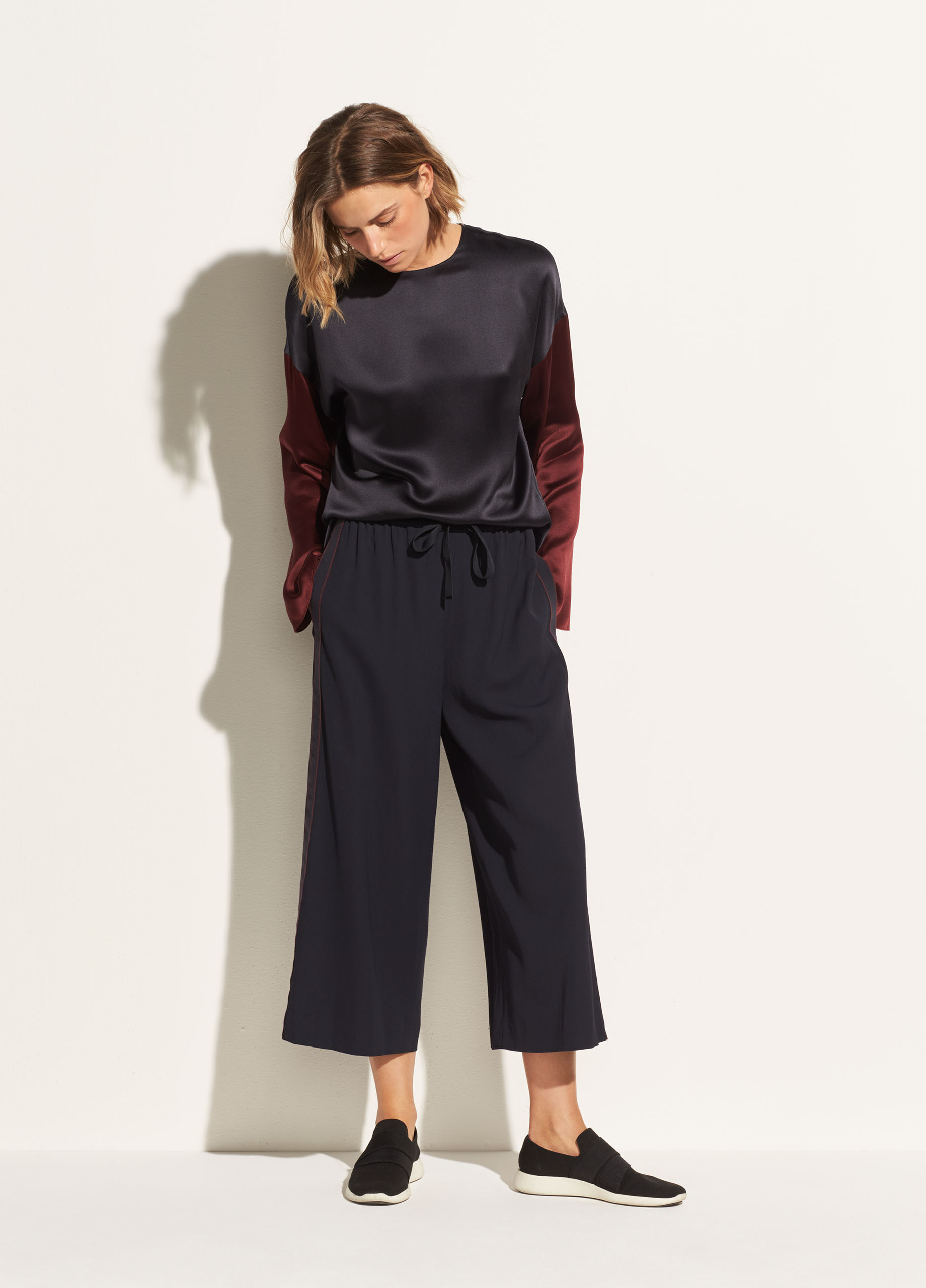 Side Strap Culotte For Women Vince