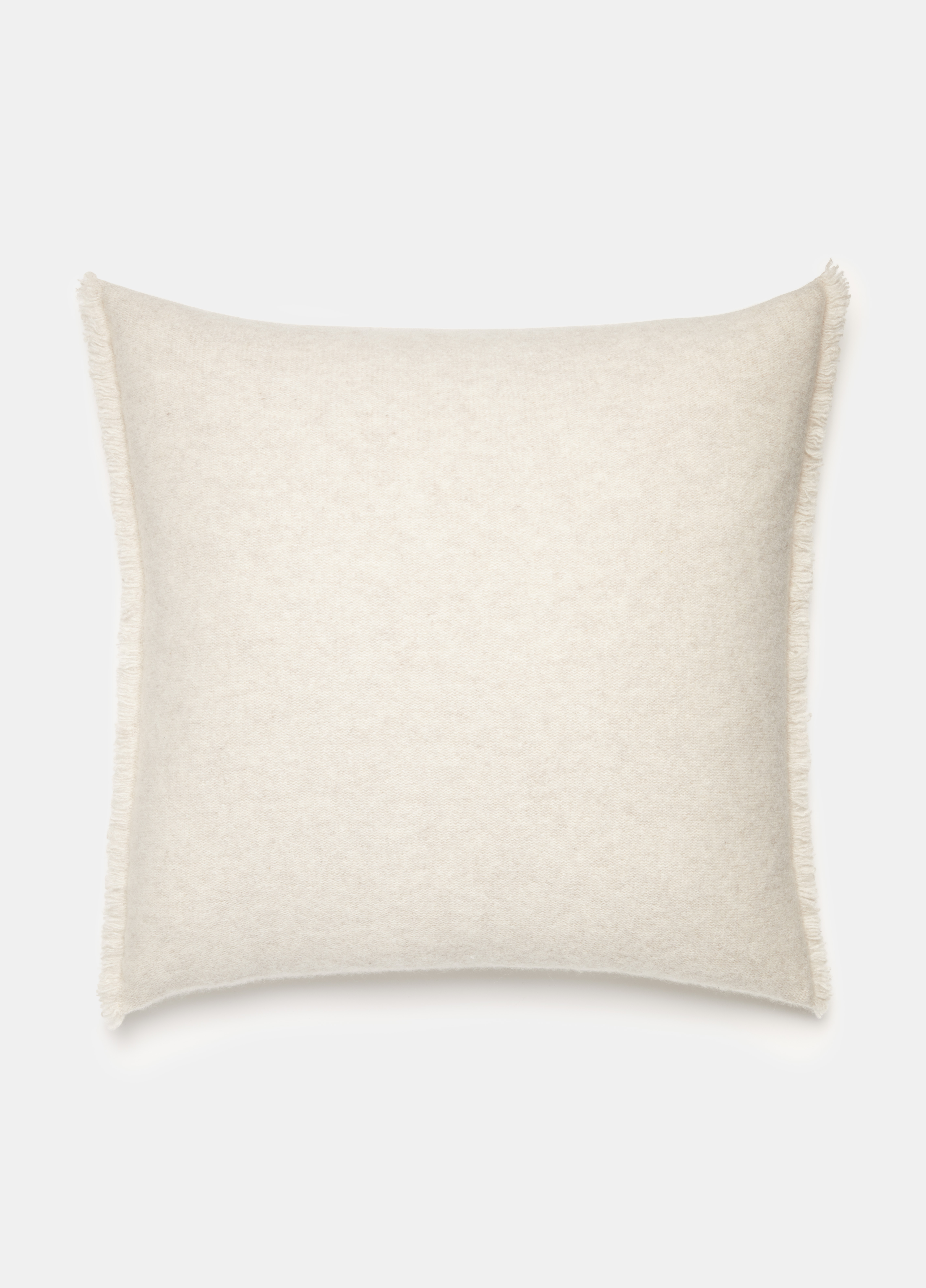Boiled Cashmere Square Pillow