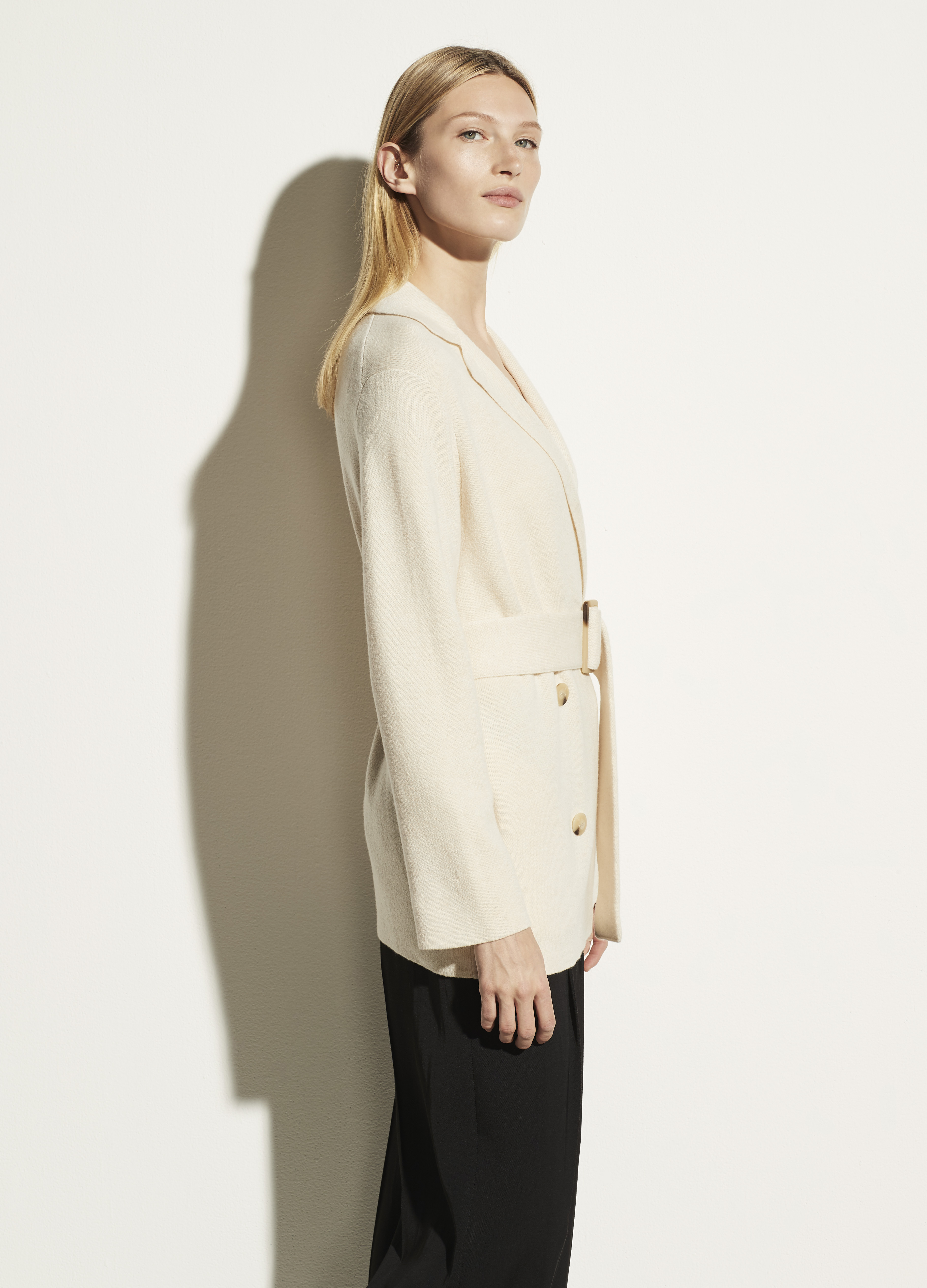 Belted Sweater Coat