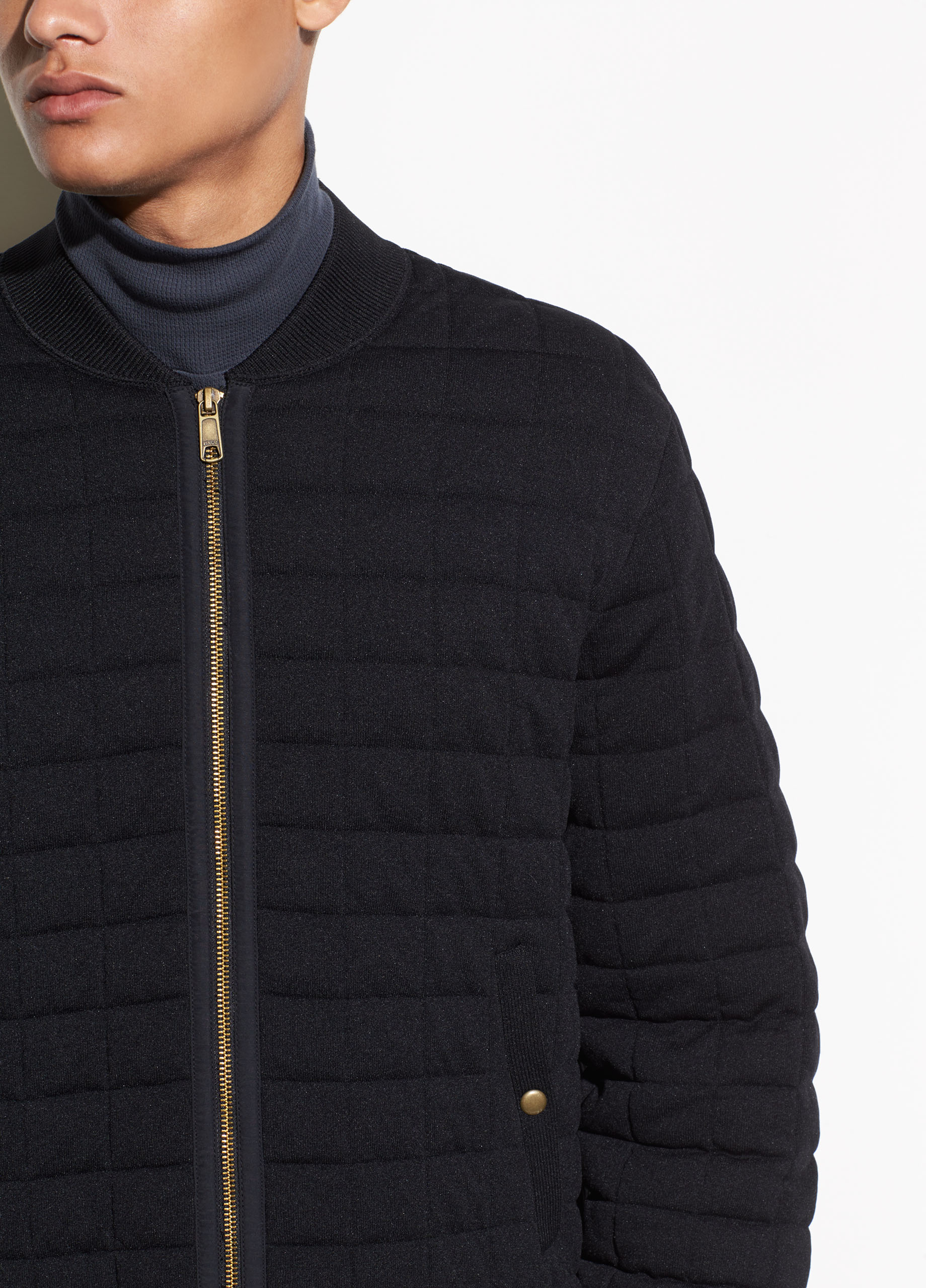 Contrast Double Knit Hoodie