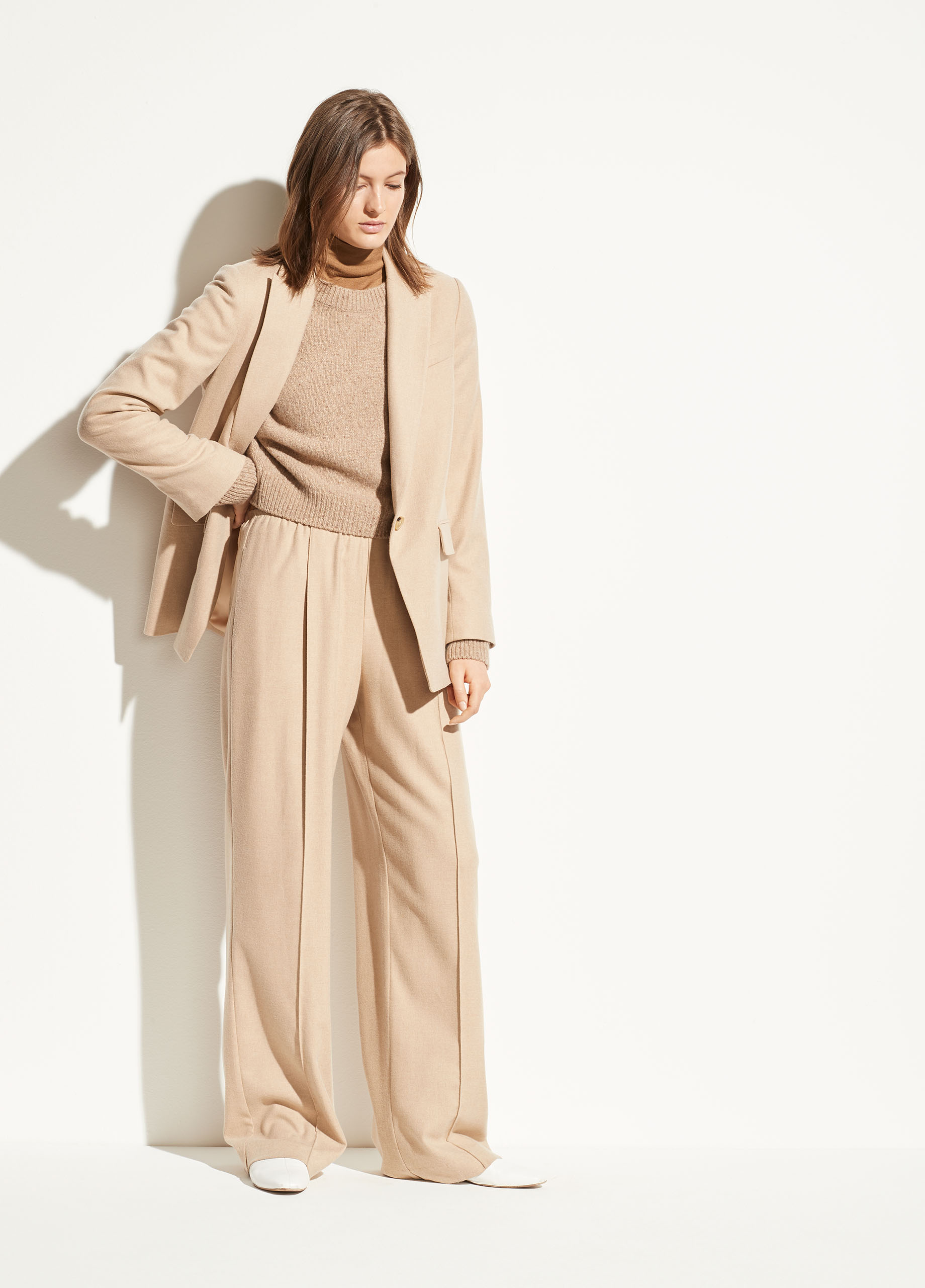 Notch Collar Long Cardigan