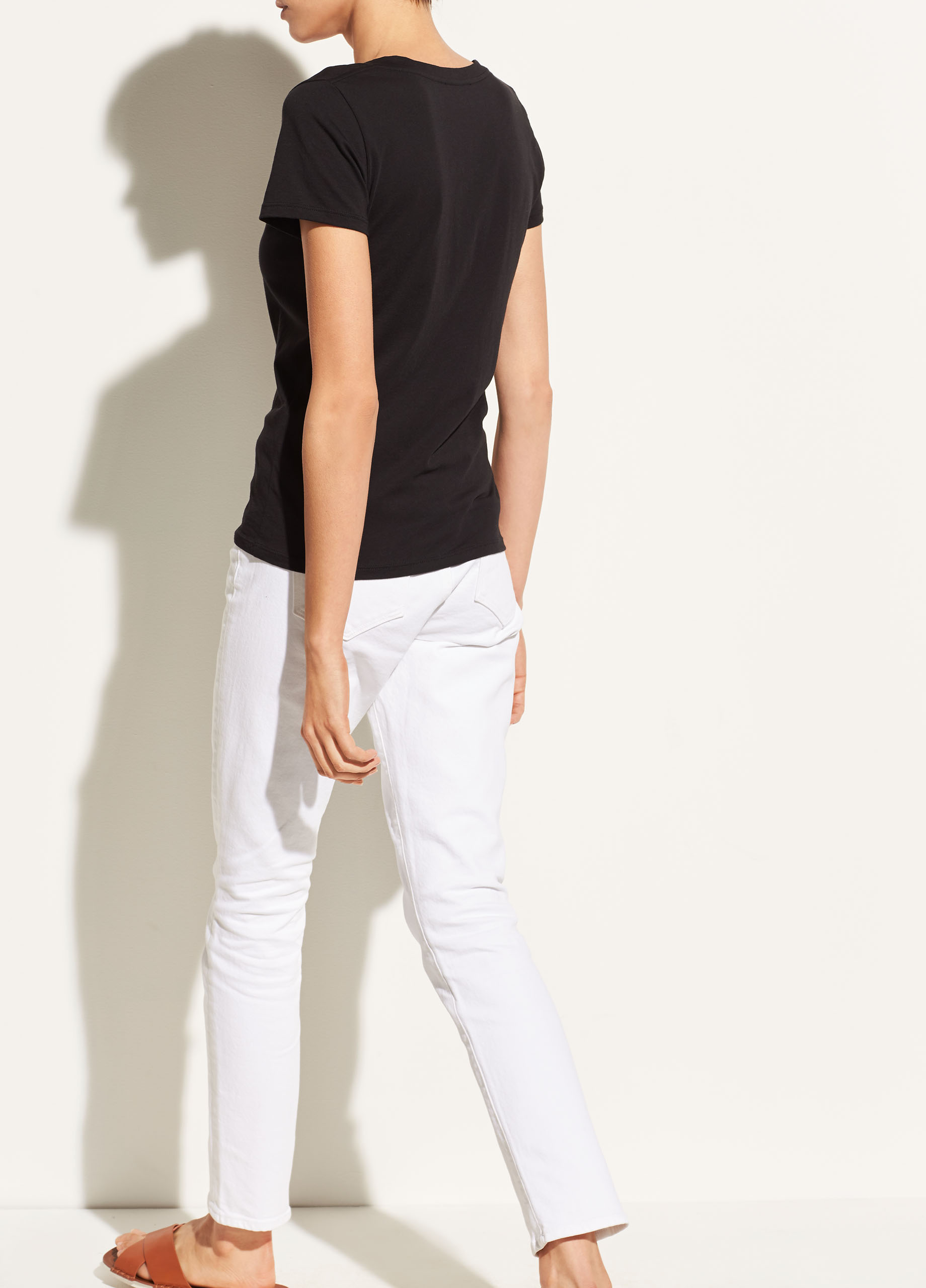 Essential Pima Cotton V-Neck