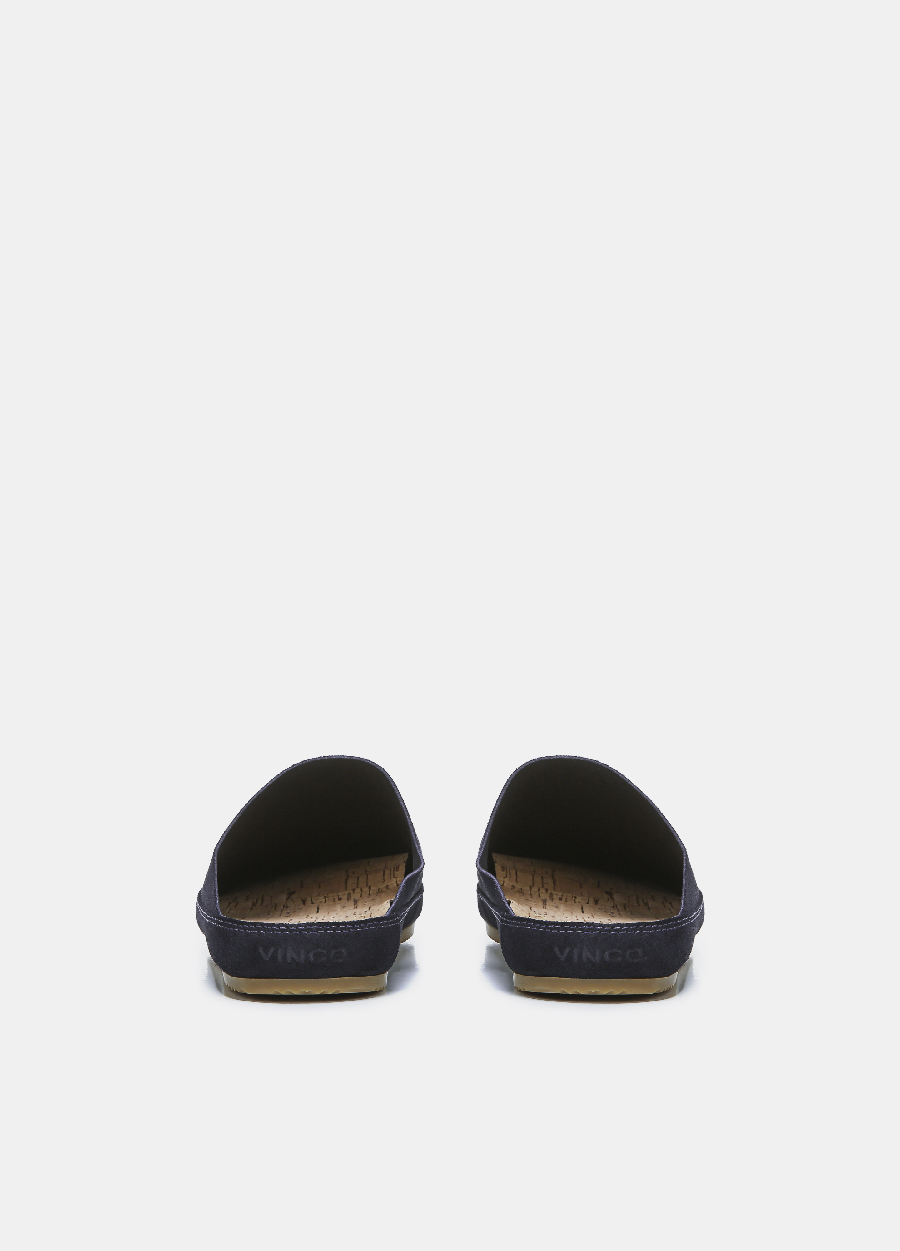 Suede Alonzo Backless Loafer
