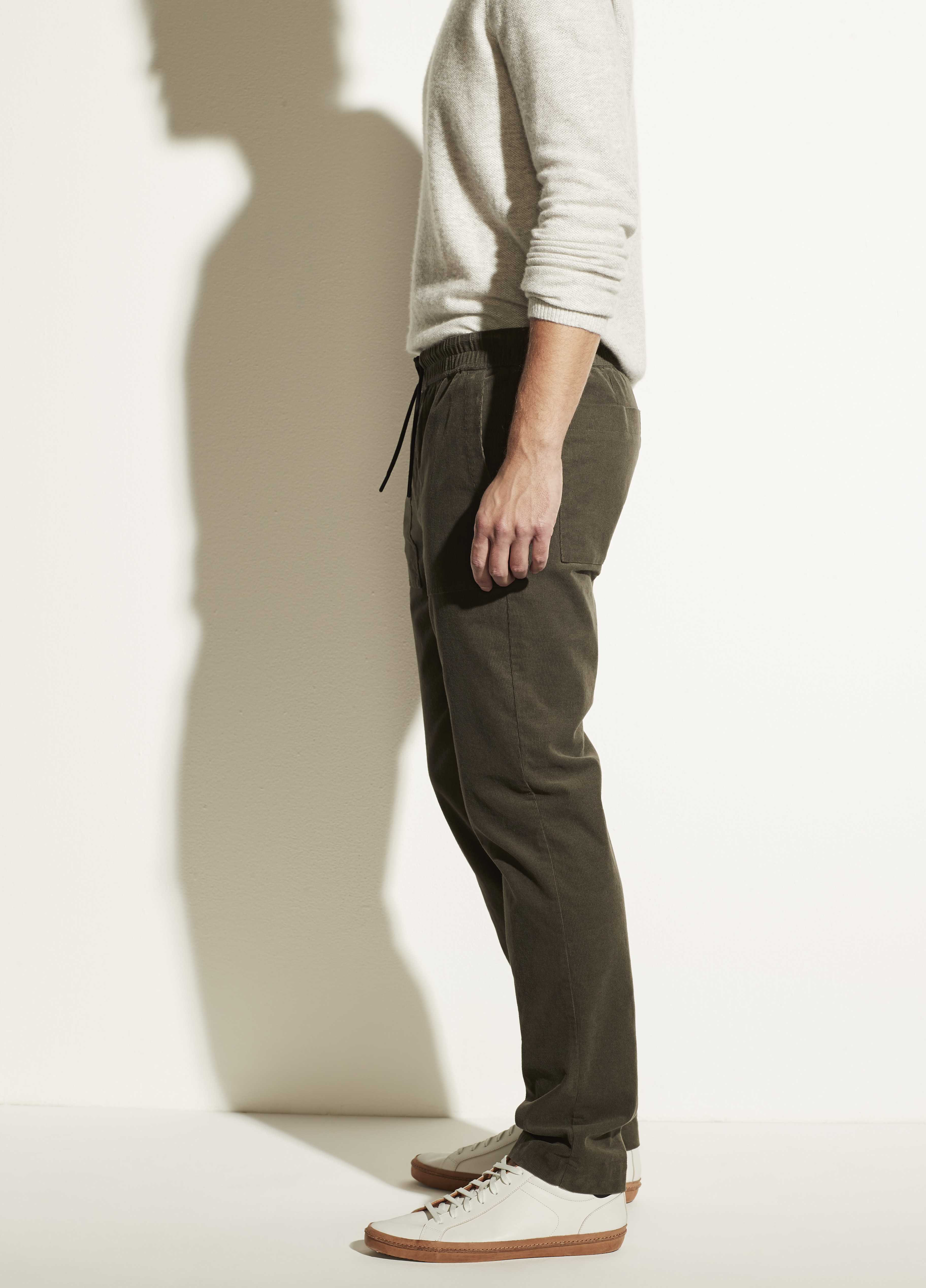 Micro Cord Pull On Pant