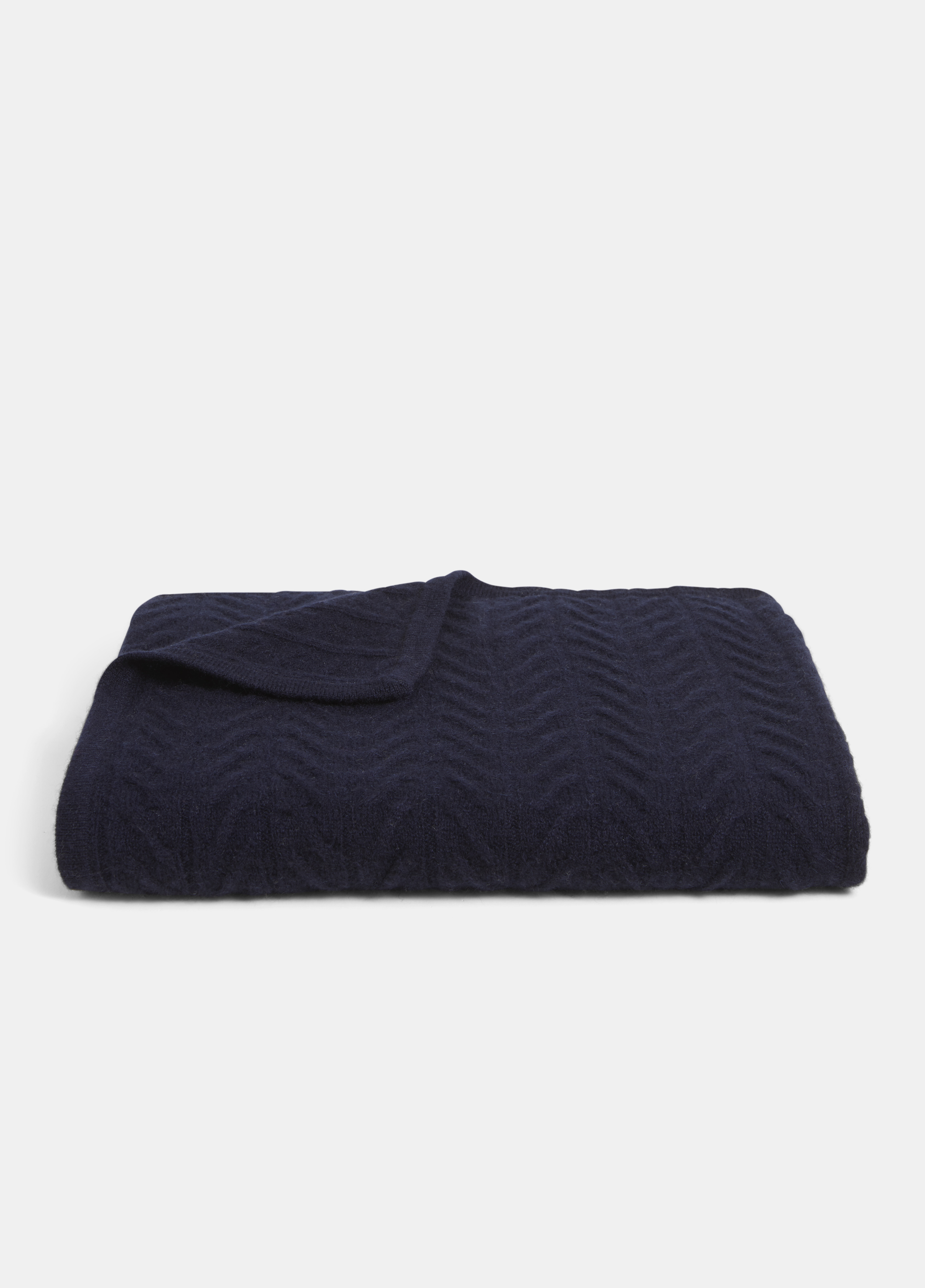 Cashmere Cable Blanket