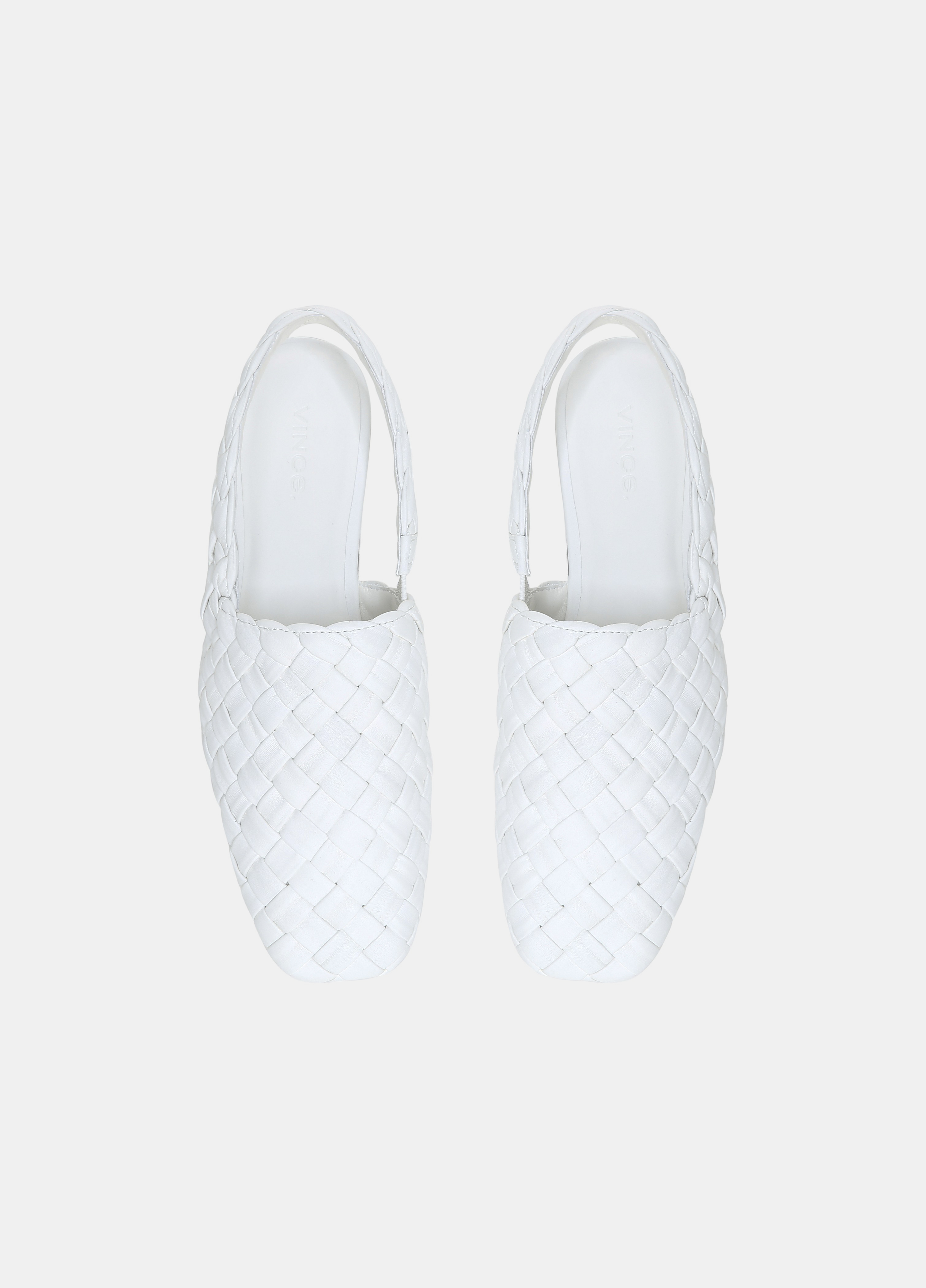 Cadot Leather Woven Shoe