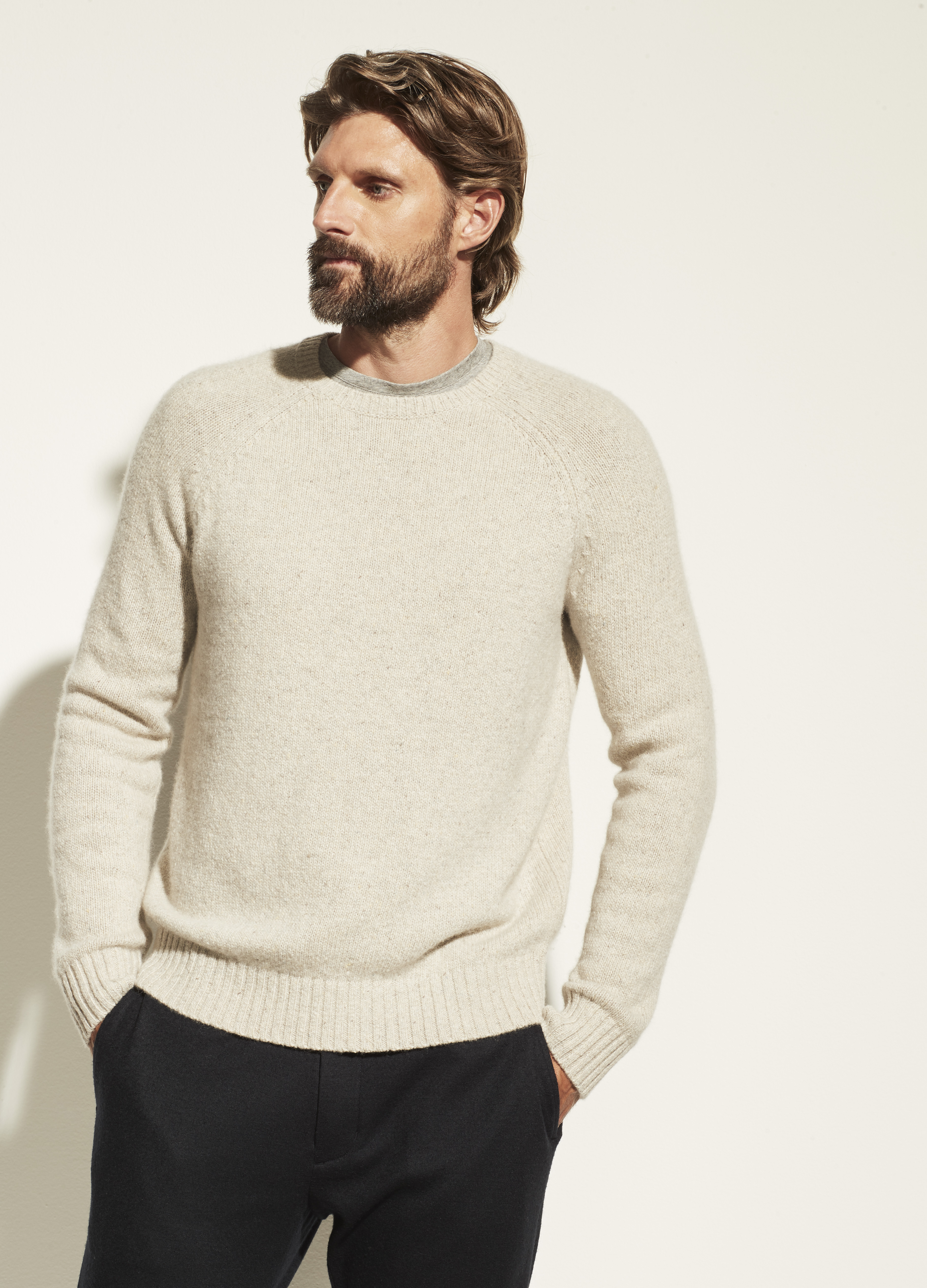 Cashmere Donegal Crew