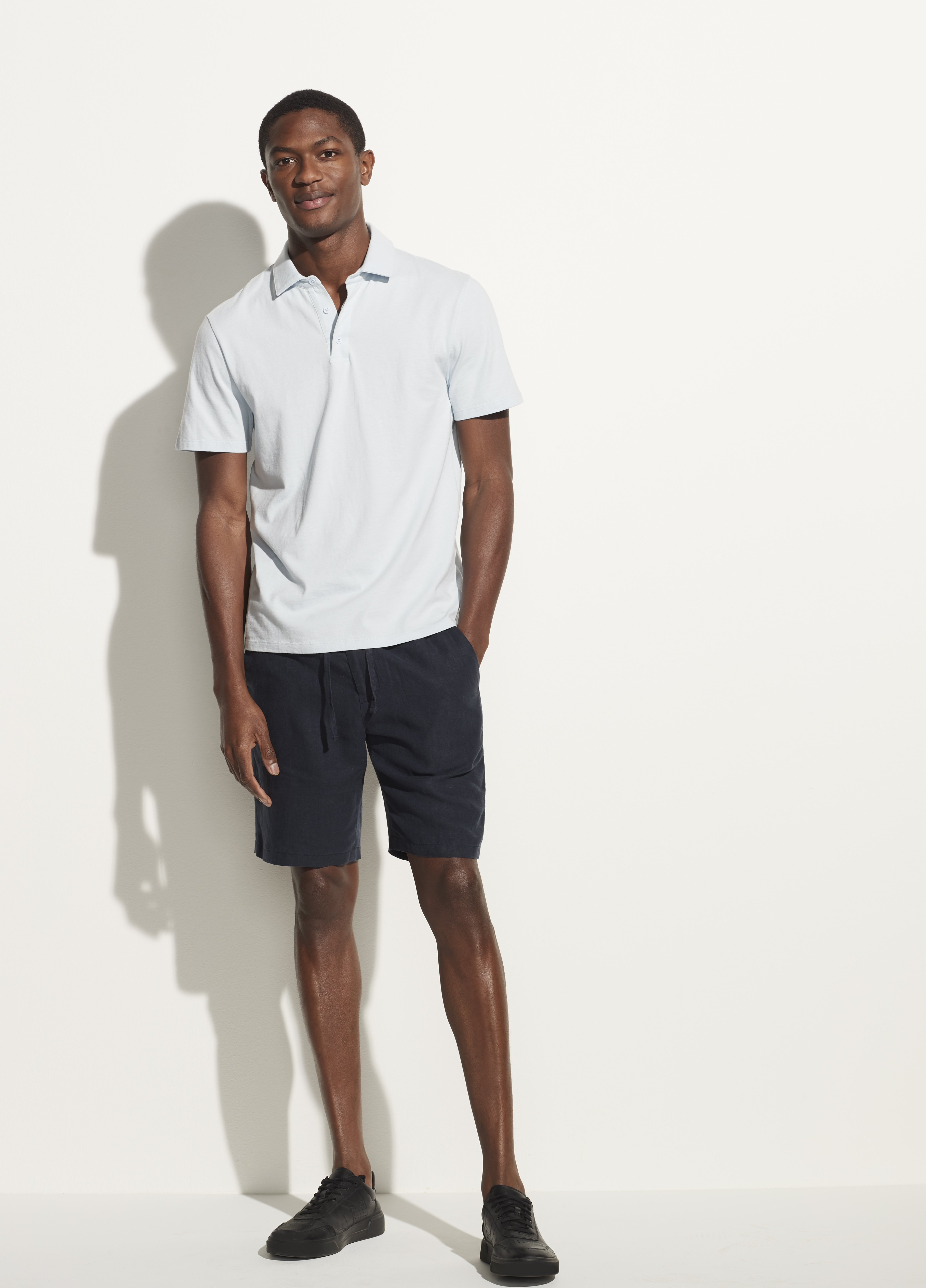 Garment Dye Short Sleeve Polo