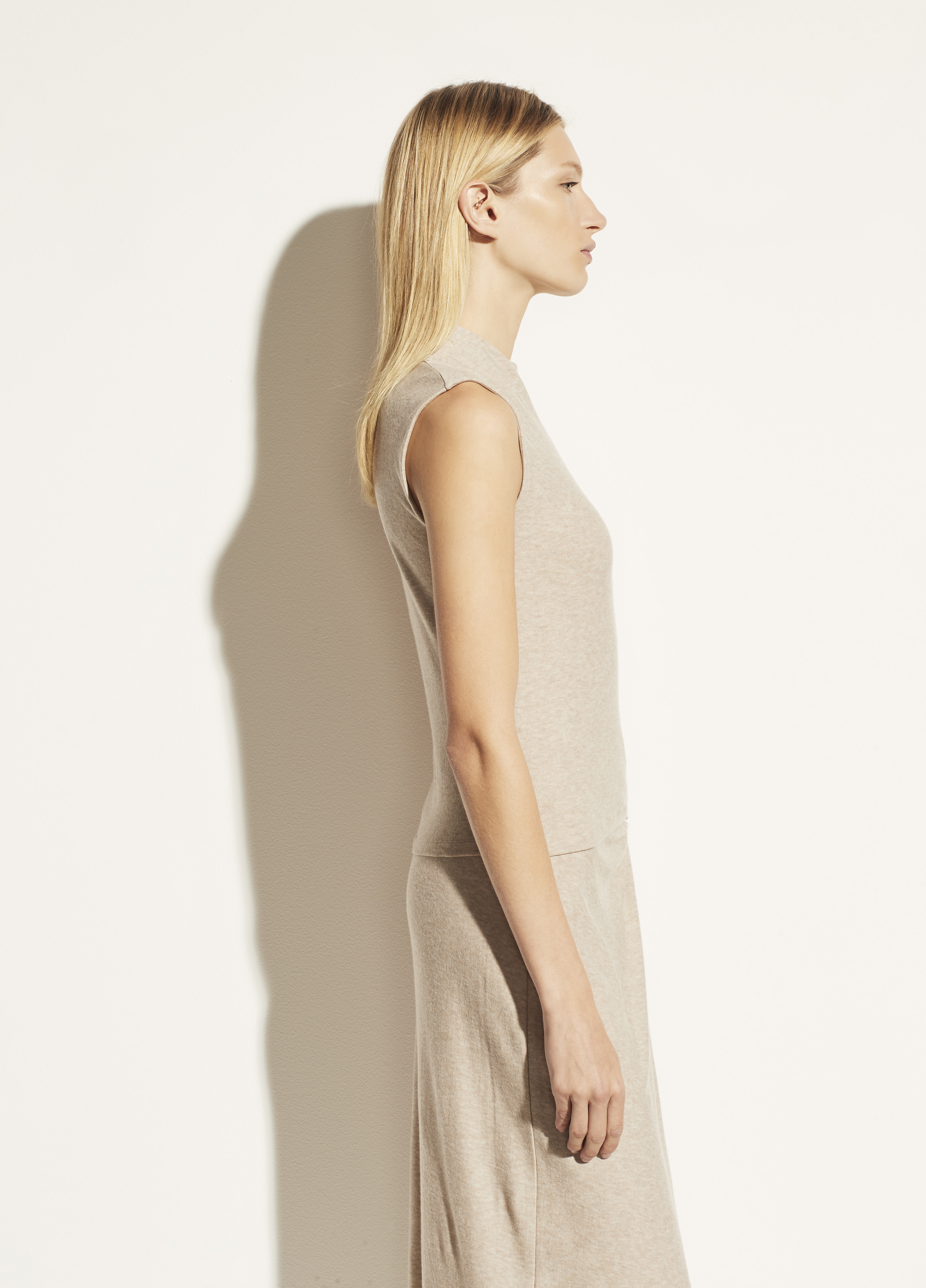 Drape Neck Shell